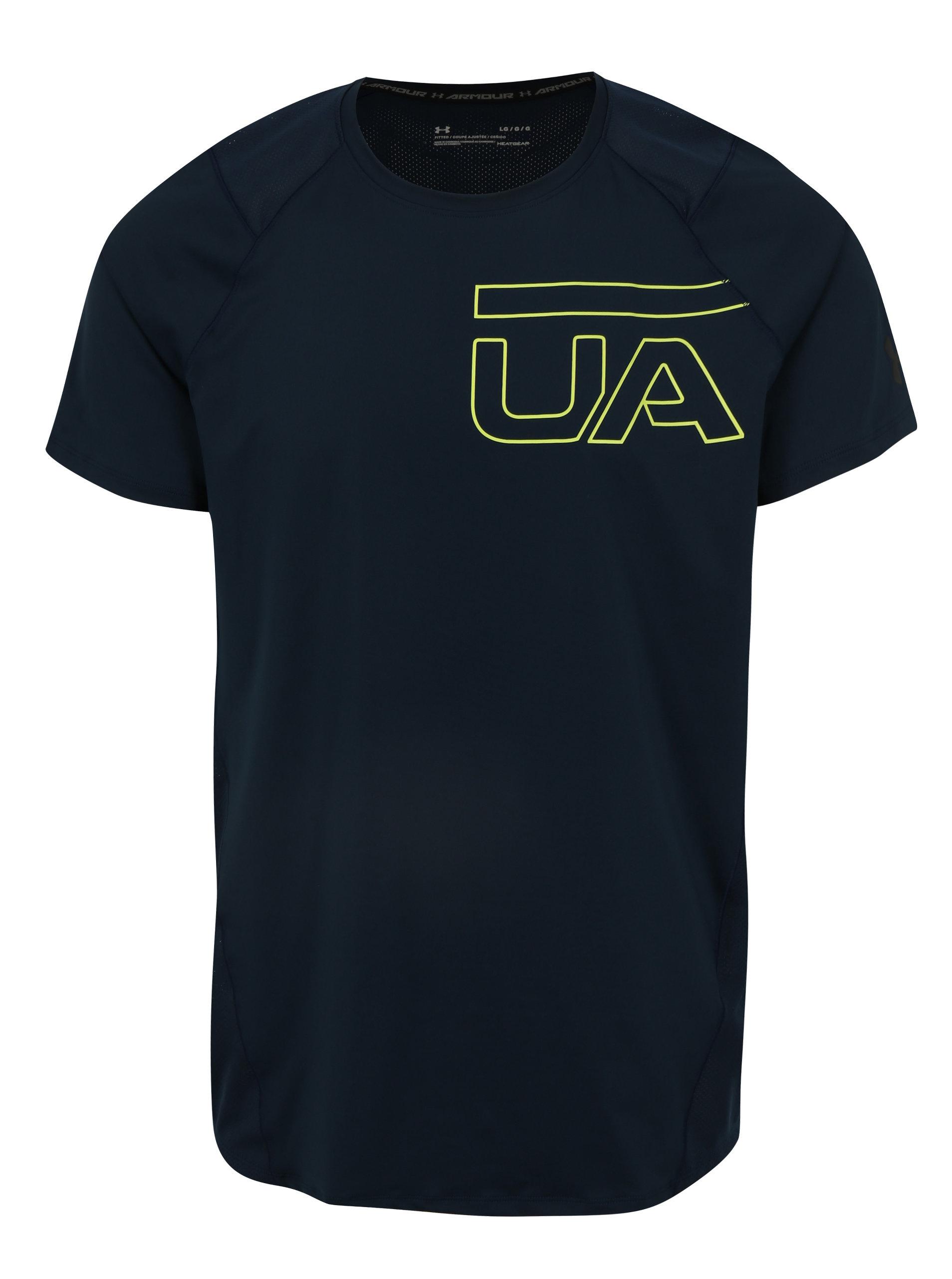Černé pánské funkční tričko s potiskem Under Armour MK1 - Akční cena ... 123548648cb