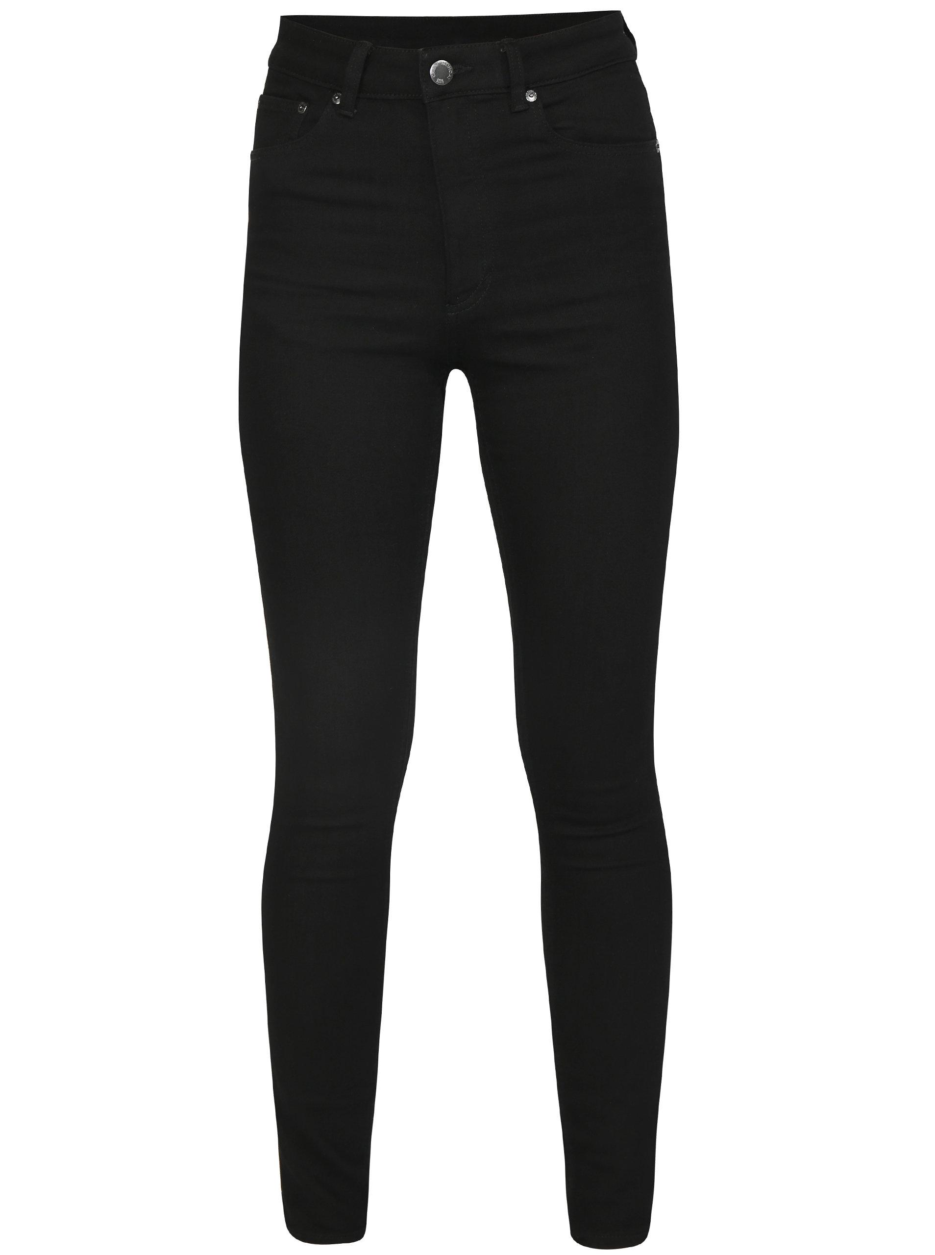 Černé dámské skinny džíny s vysokým pasem Cheap Monday ... e792e3d2e4