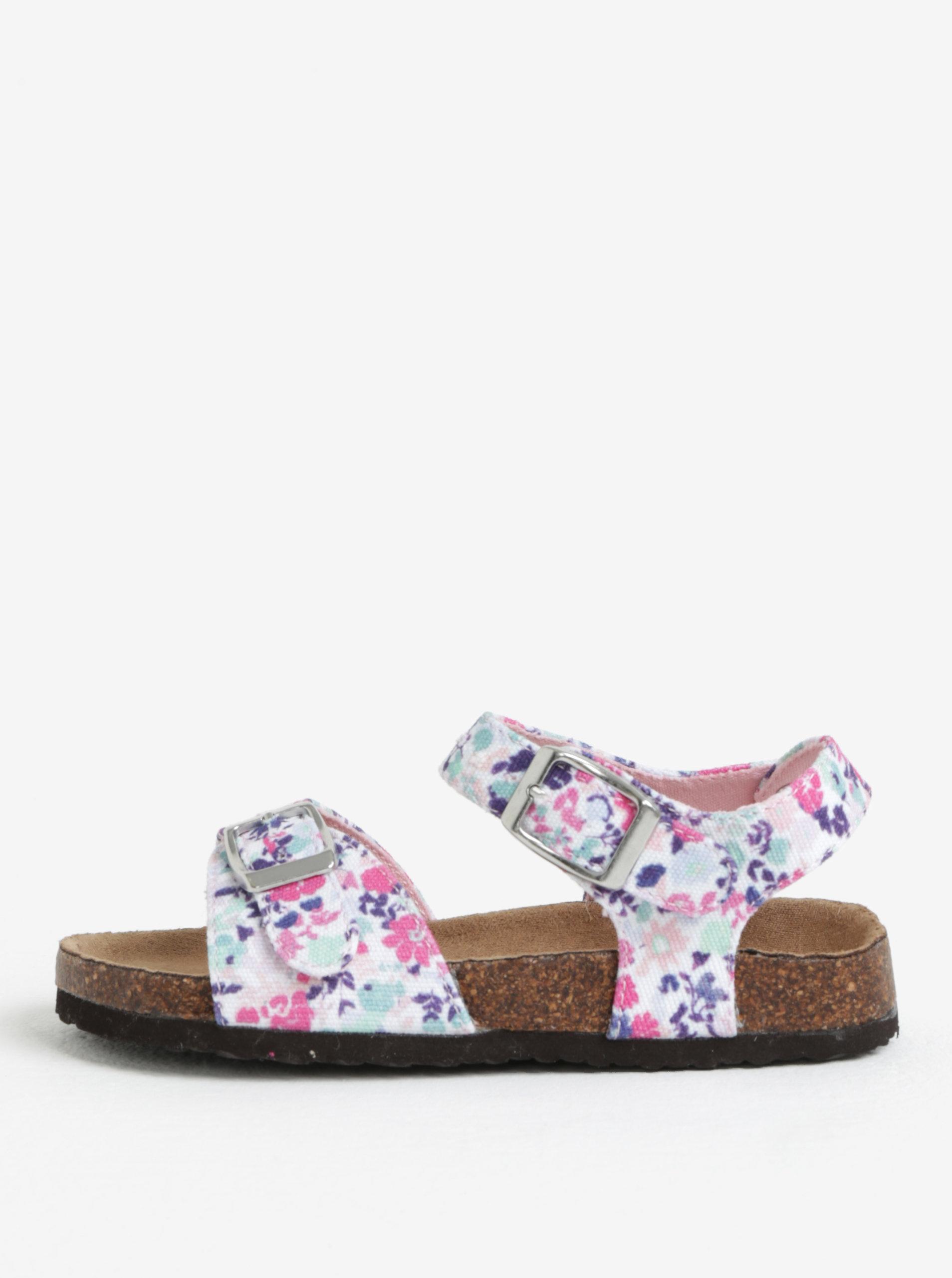 9c1714bc485a Bielo-ružové dievčenské sandále Tom Joule Tipytoe ...