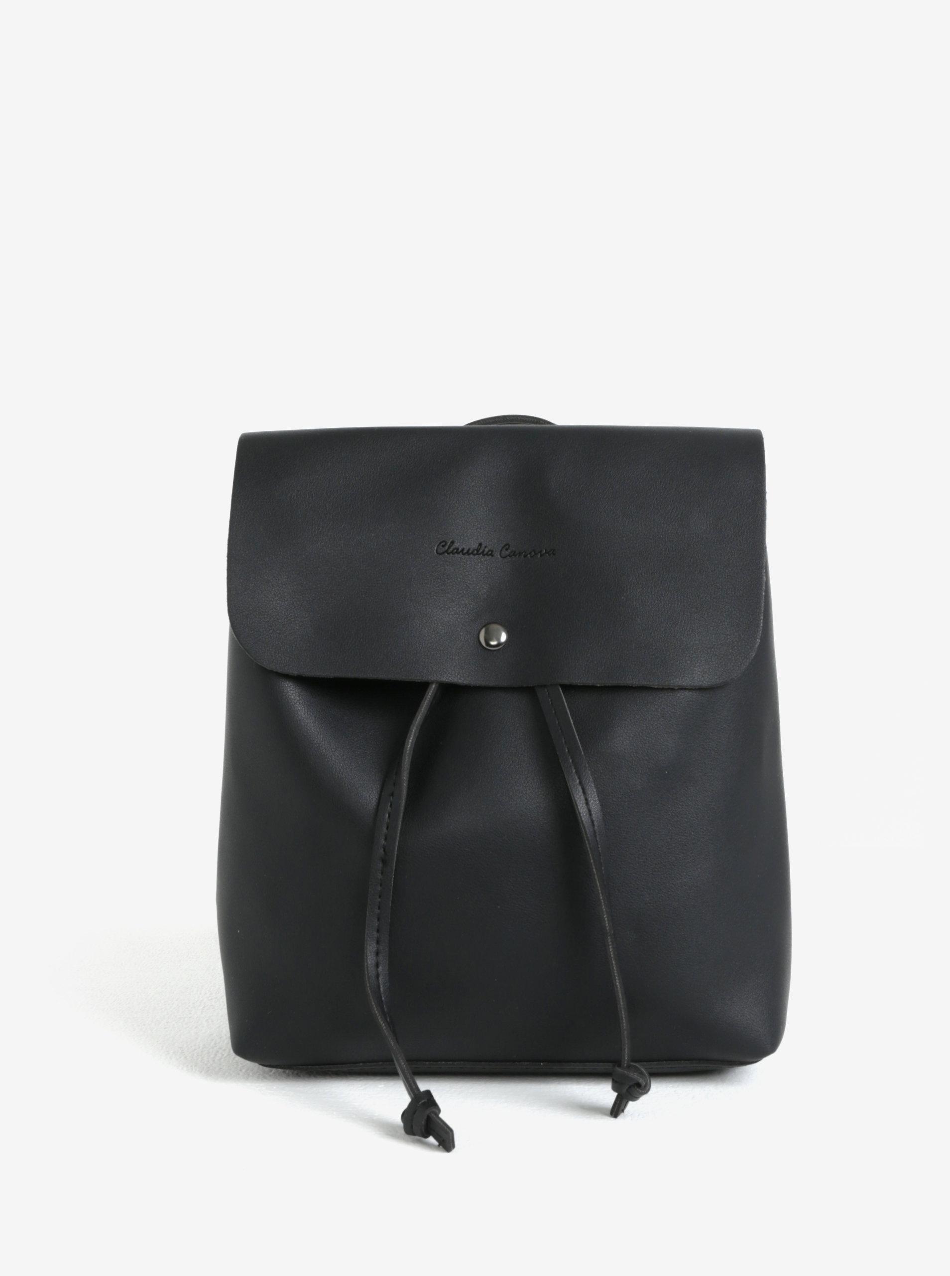 9672443542 Černý malý batoh crossbody kabelka Claudia Canova Kiona - SLEVA ...