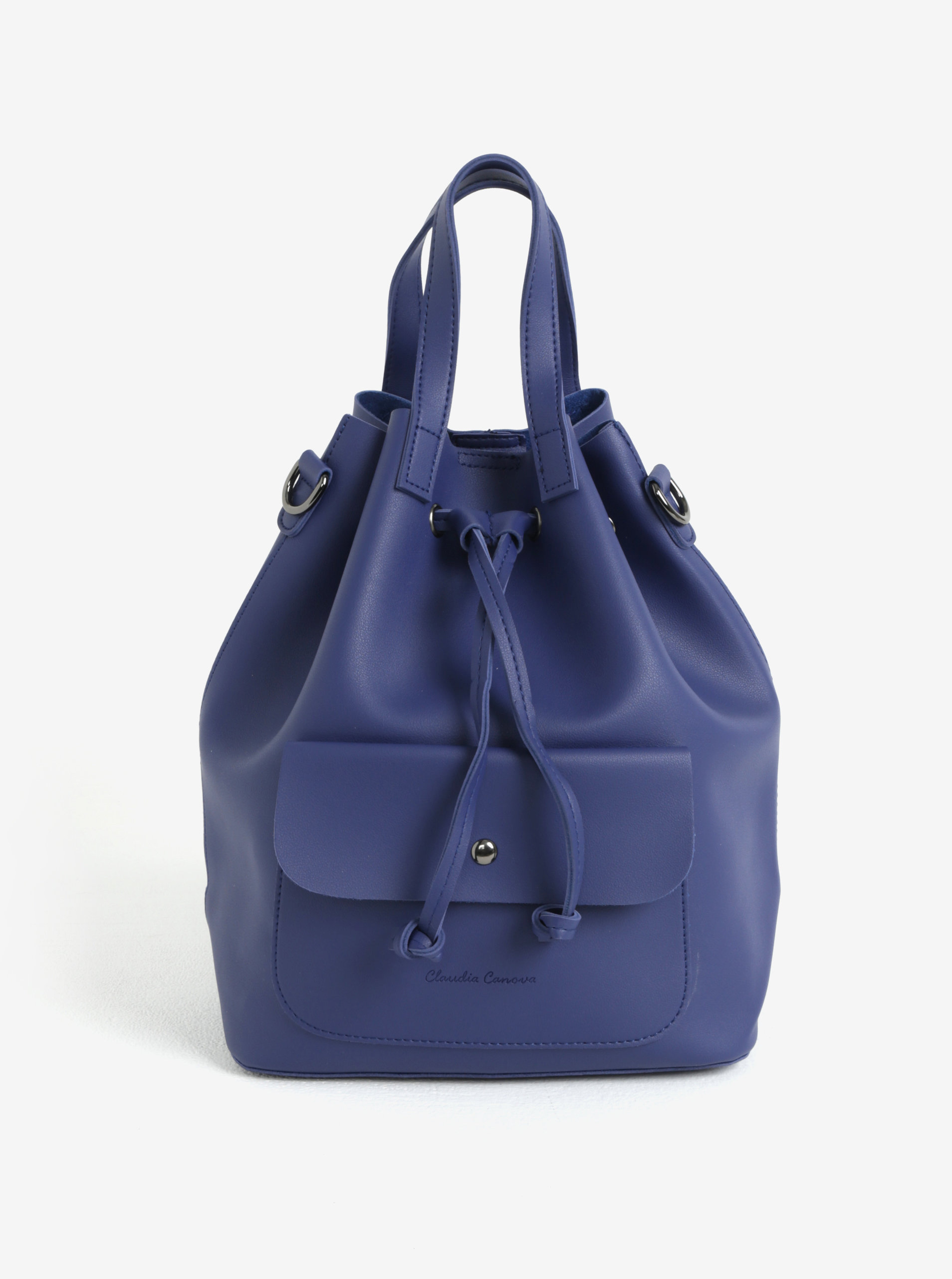 Modrý batoh/vaková kabelka Claudia Canova Gaya