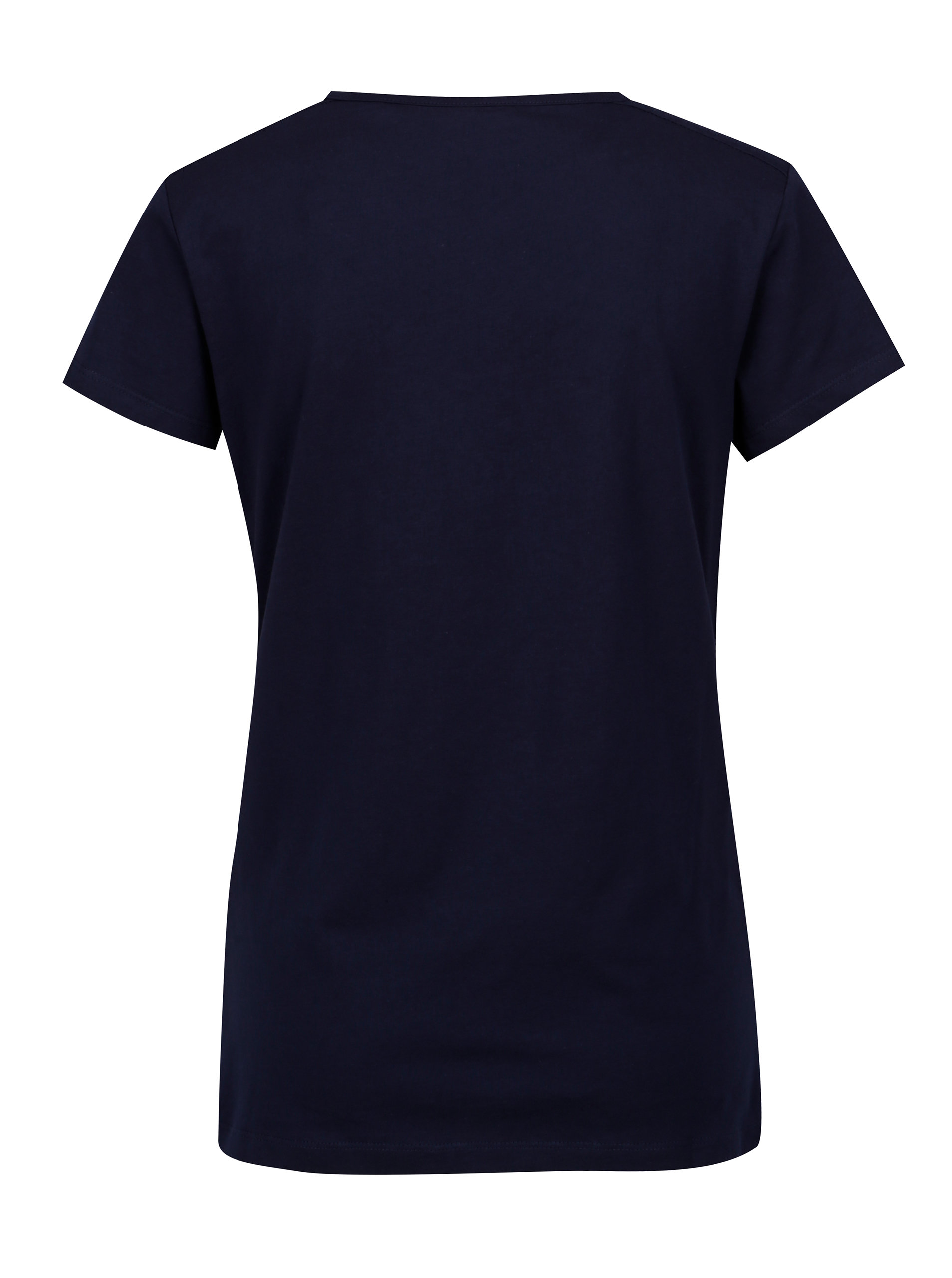9cec6a80ad42 Tmavomodré dámske tričko s potlačou LOAP Abigale ...