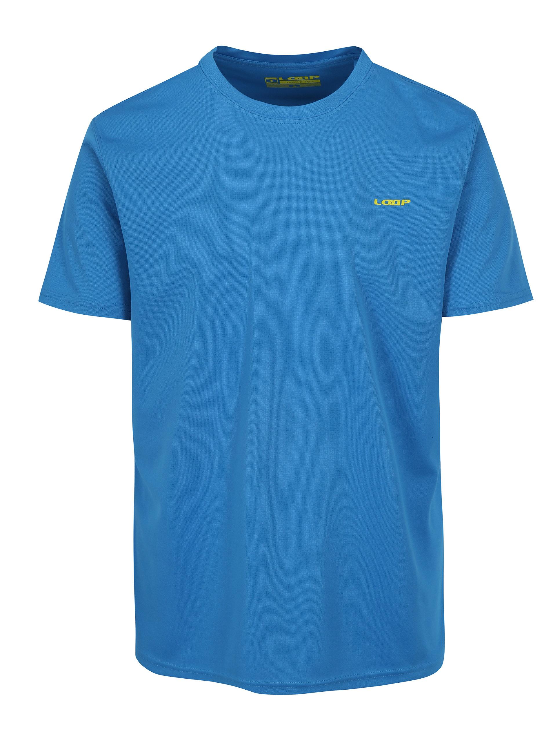 9c6d5d7e666e Modré pánske funkčné tričko LOAP Messi ...
