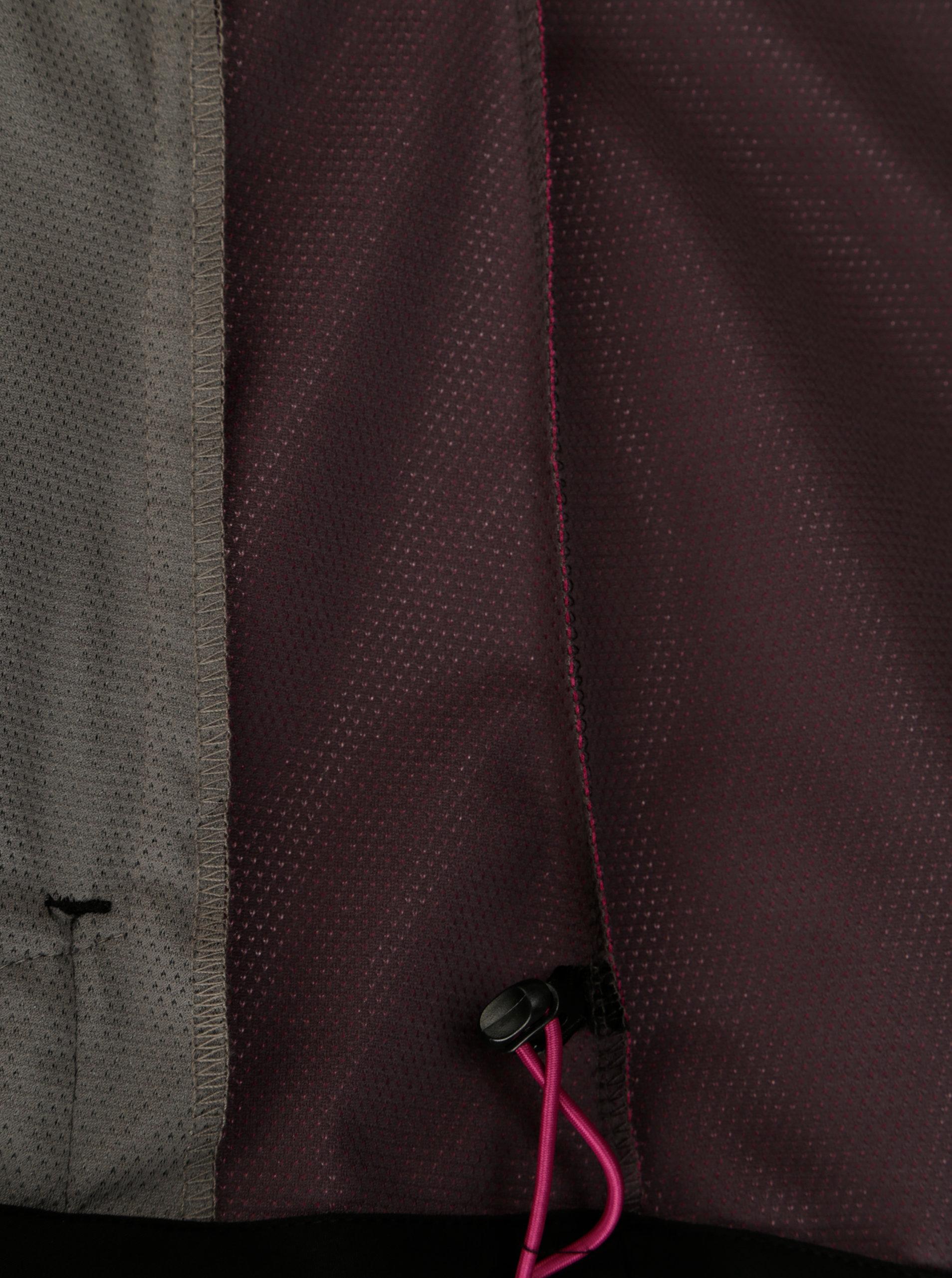 Čierno-ružová dámska softshellová bunda LOAP Libbi ... 19c863e109b
