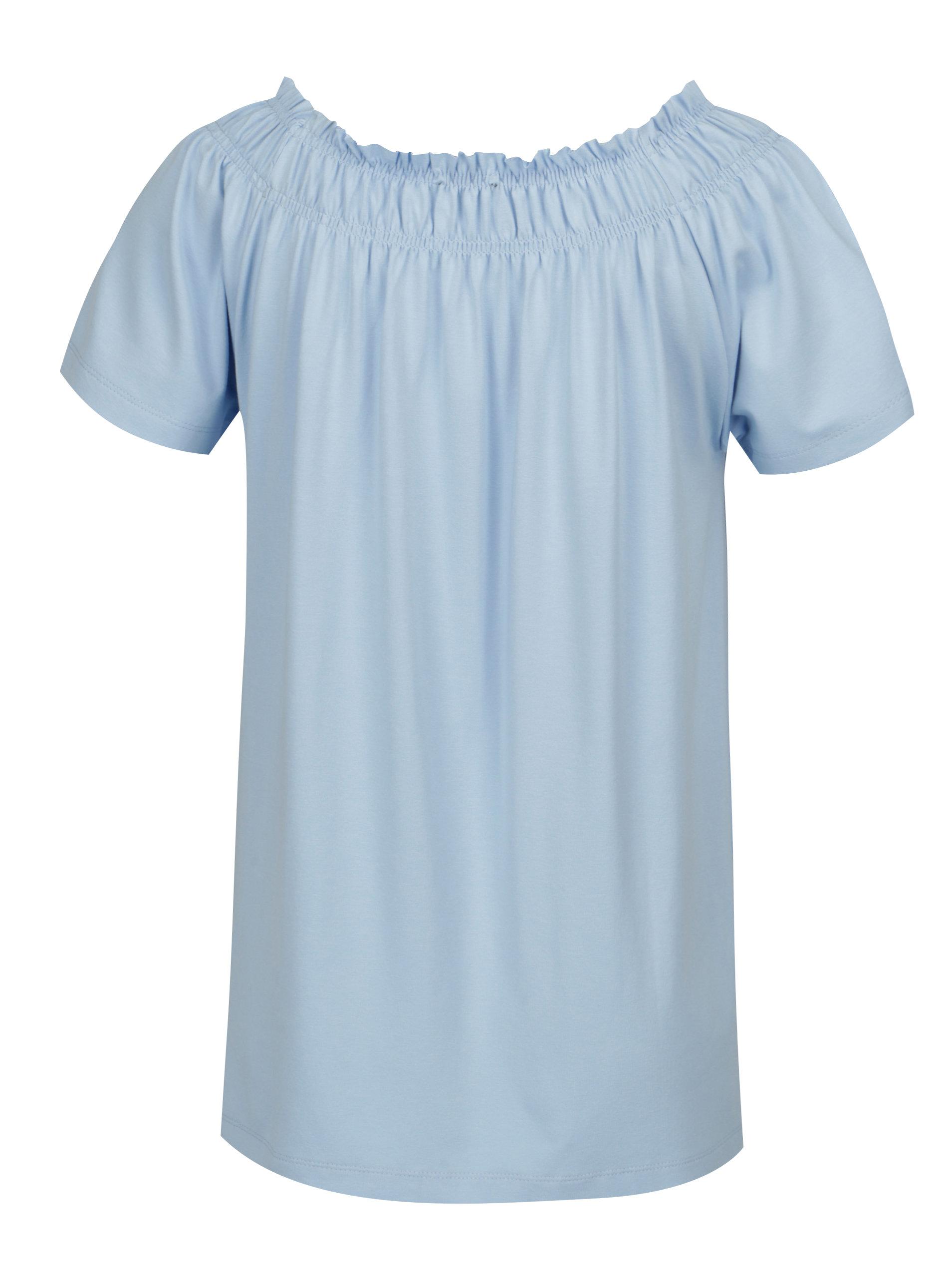 23c29b4d1a06 Modré tričko s krátkym rukávom Yest ...