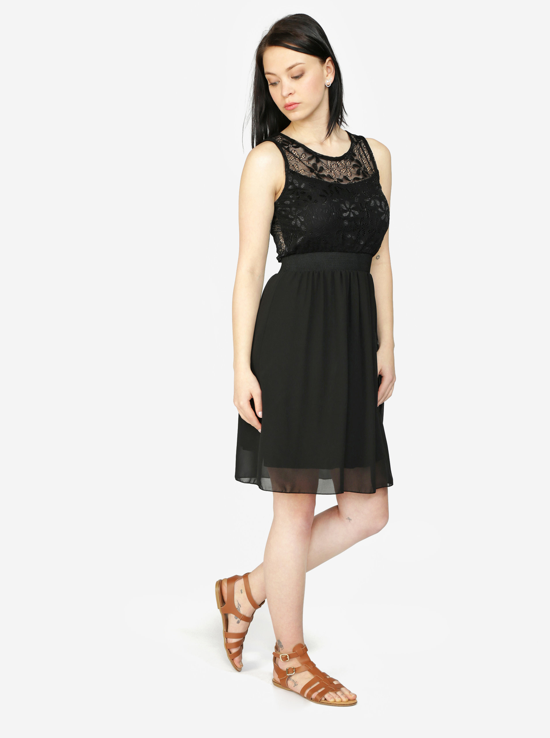 913335a3ea14 Čierne šaty s čipkou Haily´s Sarah ...