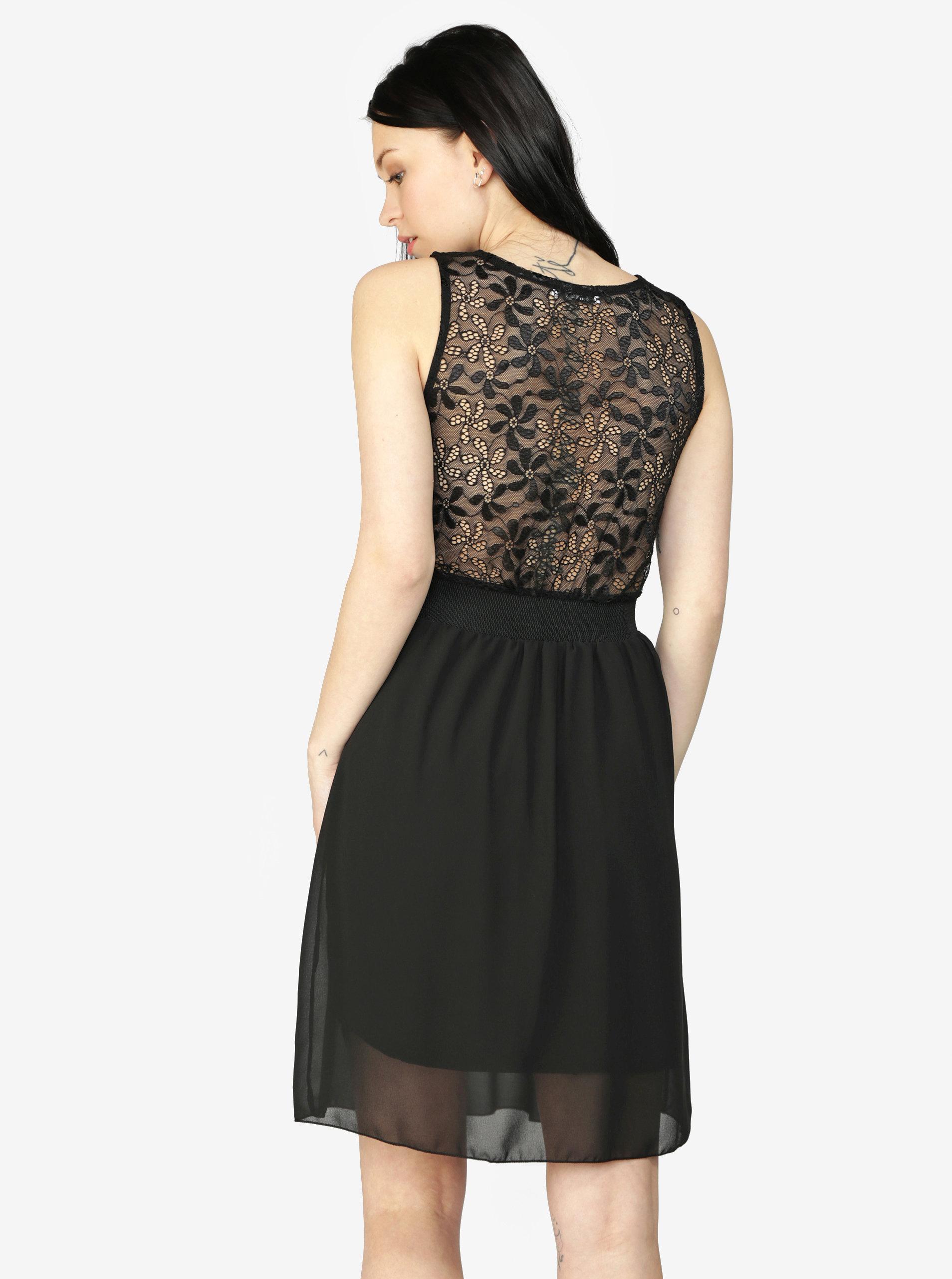 1211f830753 Černé šaty s krajkou Haily´s Sarah ...