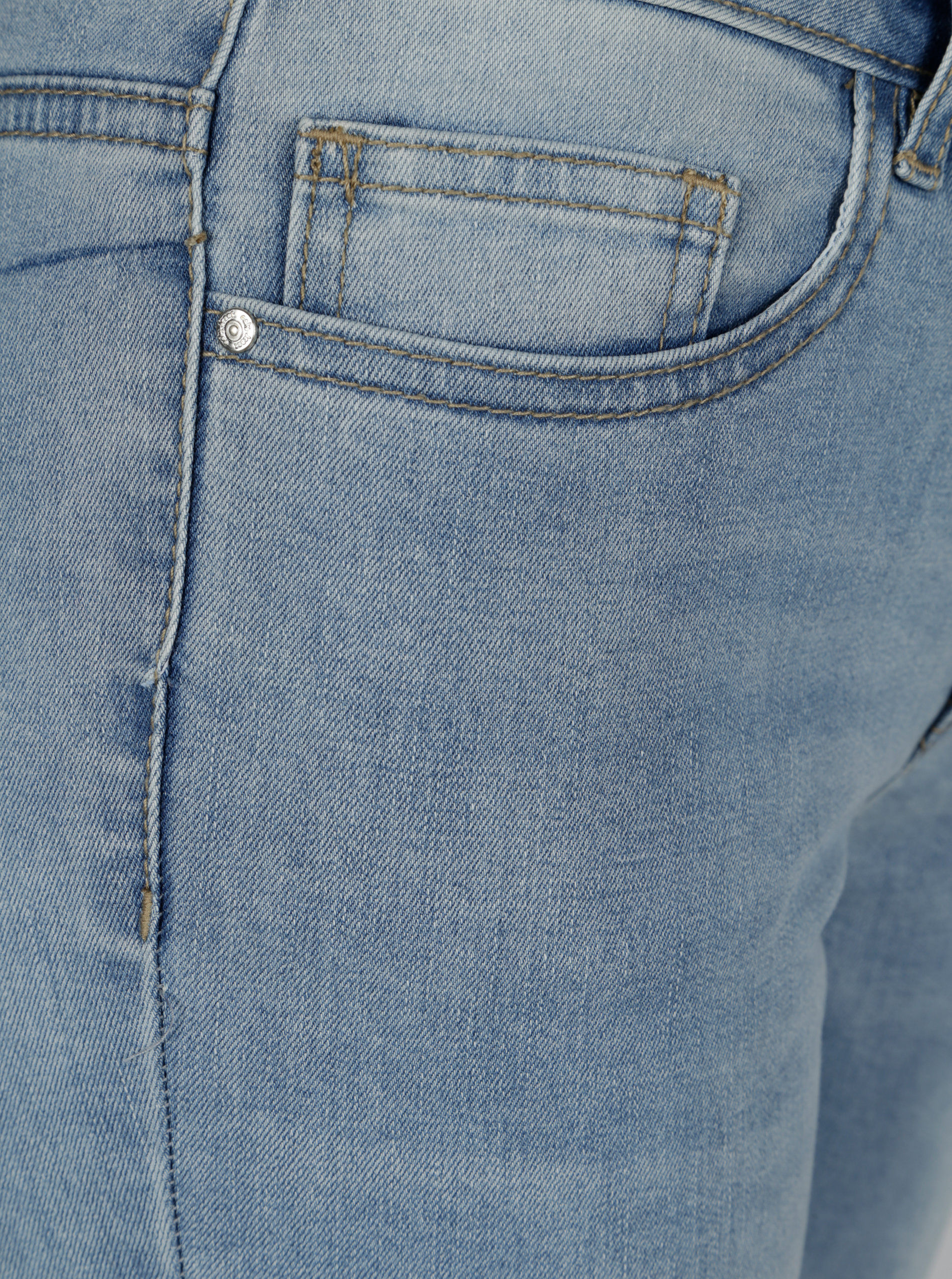 7dfd53b87fd Světle modré straight džíny s volány ONLY New Sissi ...