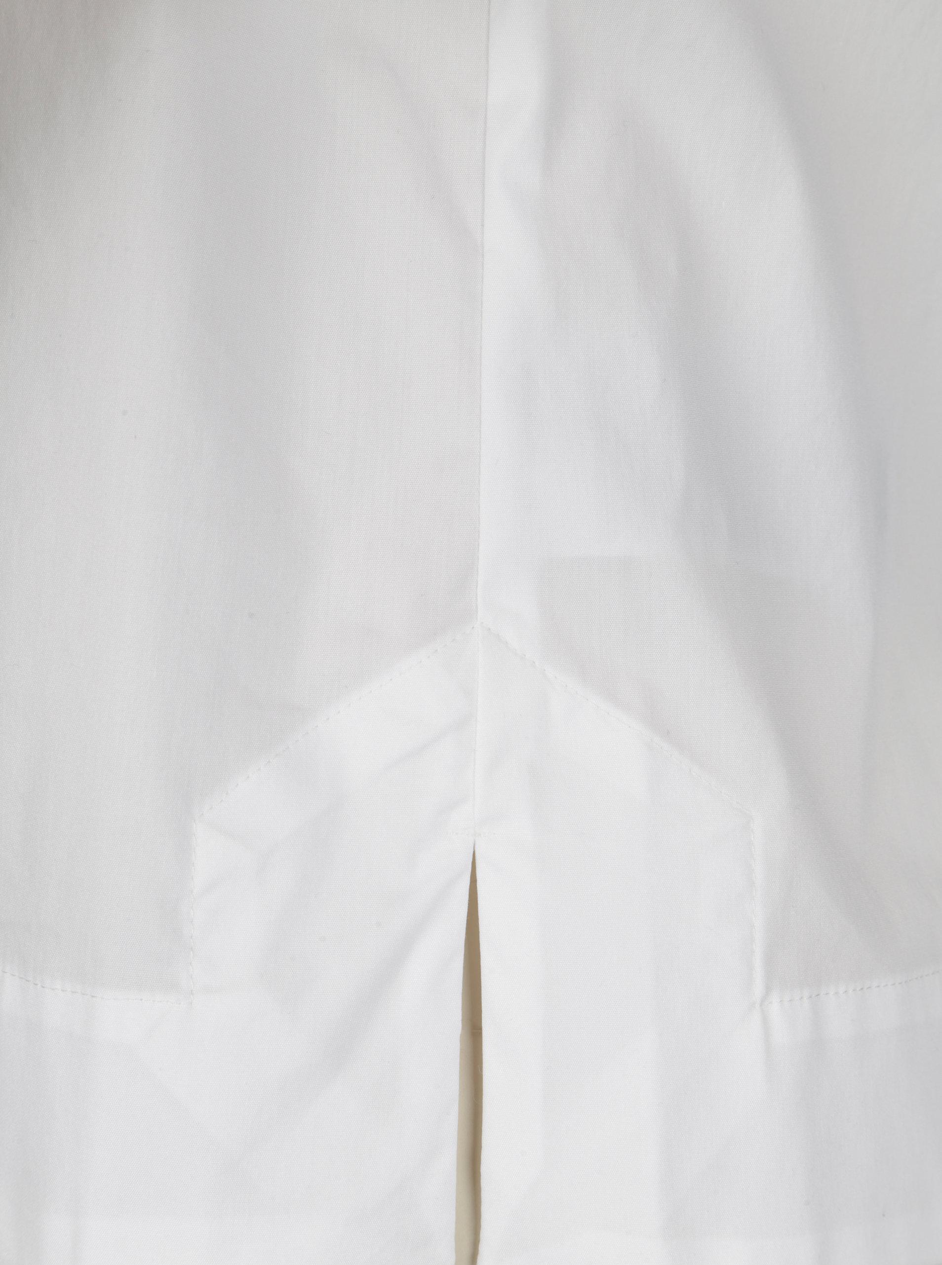 887f0a85b748 Biela krátka blúzka Selected Femme Sabina ...