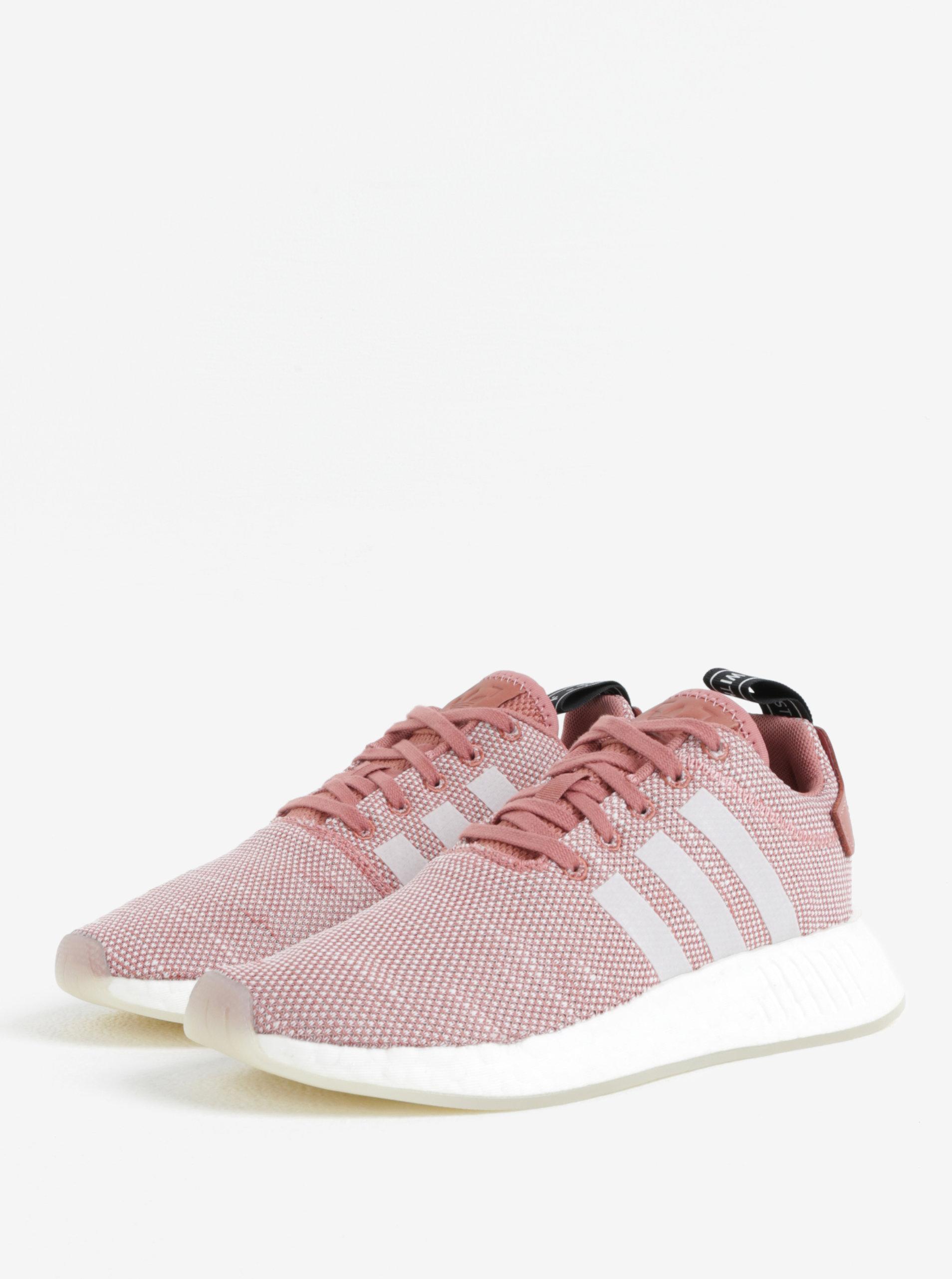 18739d7989c Světle růžové dámské tenisky adidas Originals ...