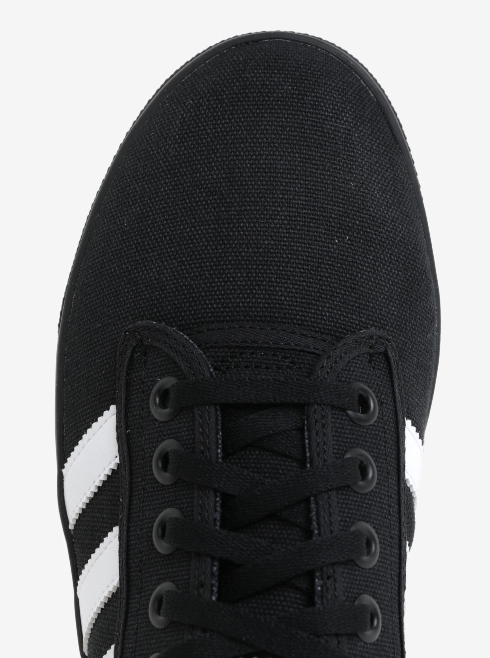 f29d0cc1afb4 Čierne tenisky adidas Originals Kiel ...
