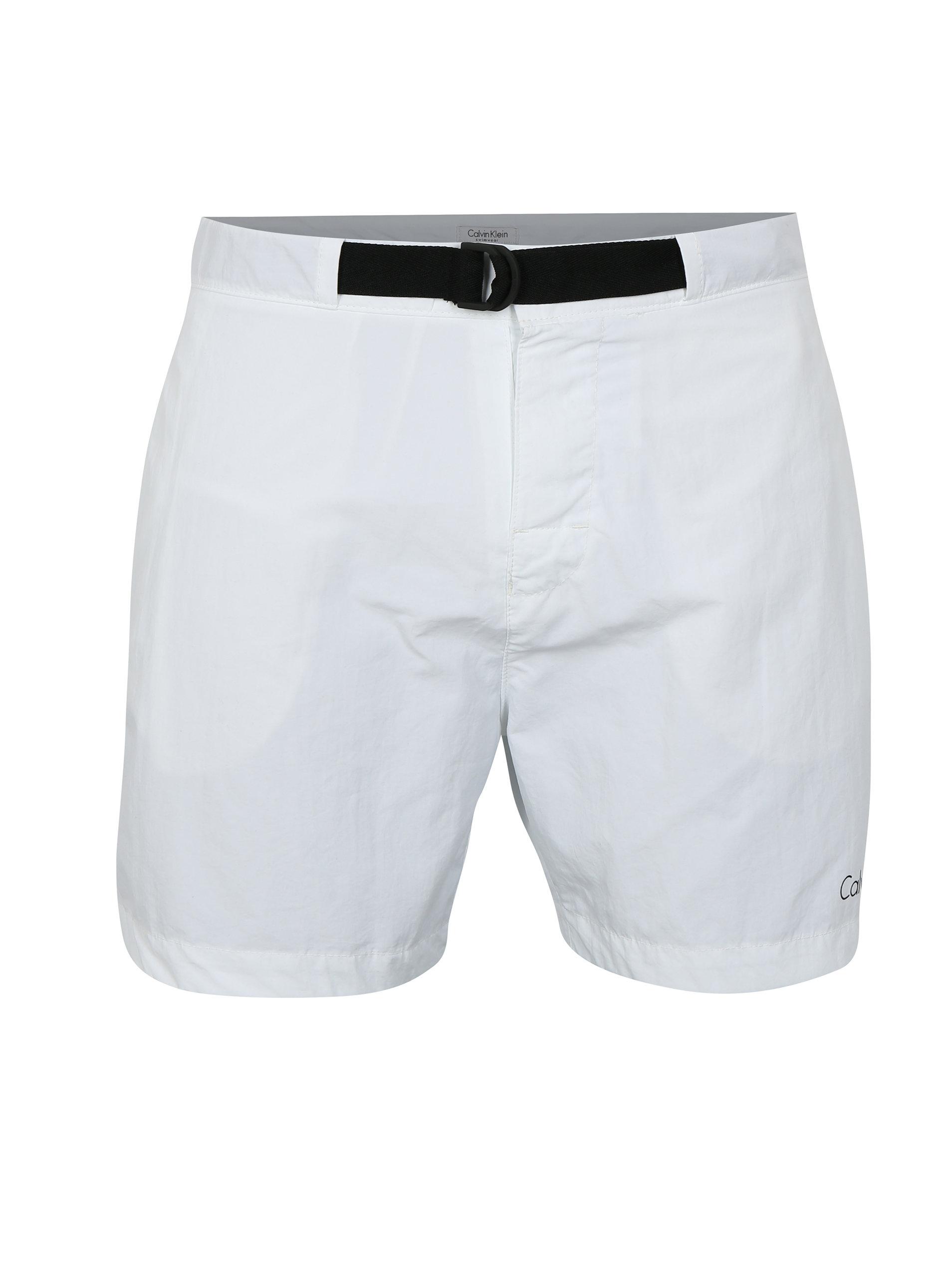 7a812f060ca37 Pantaloni scurti de baie albi pentru barbati - Calvin Klein Underwear ...
