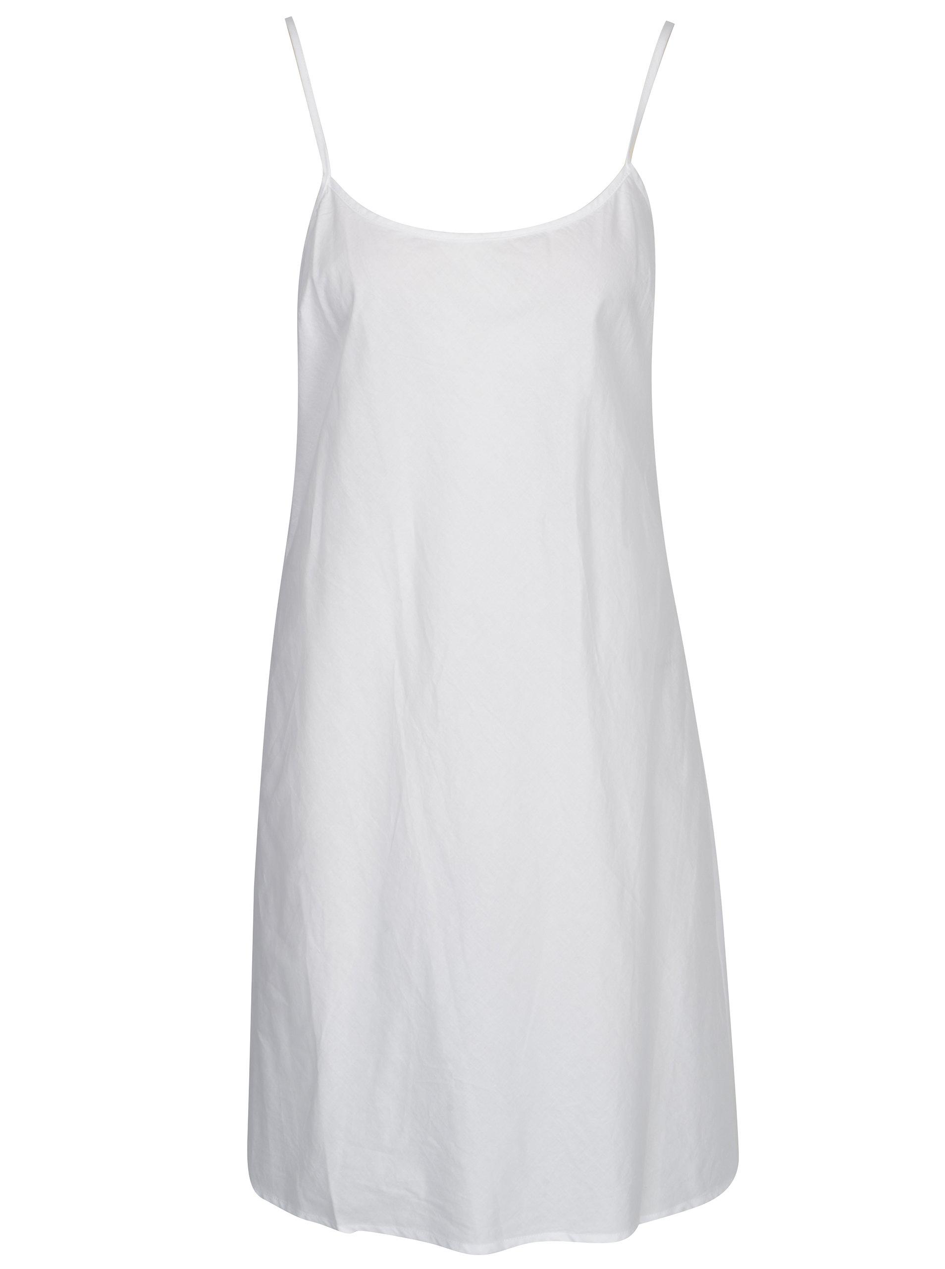 040ce6d82b9 Biele ľanové košeľové šaty DKNY ...