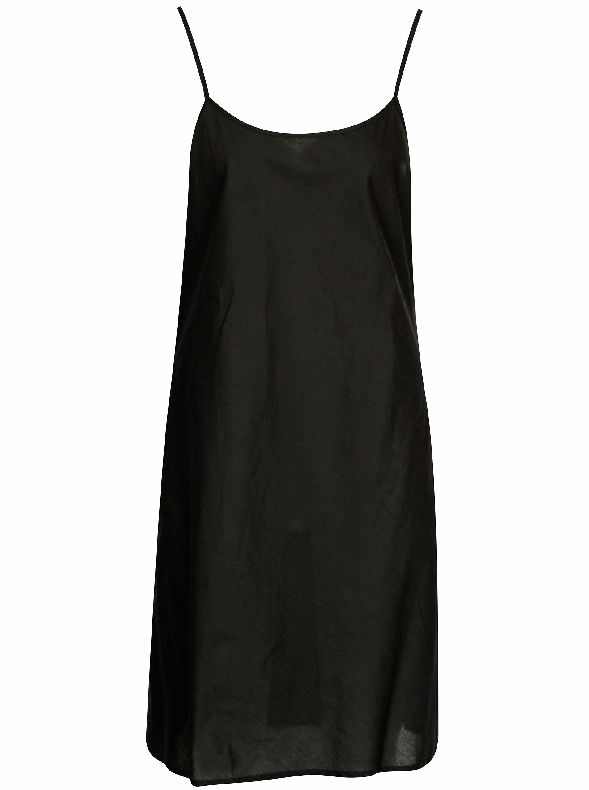 Čierne ľanové košeľové šaty DKNY ... bf8bb23d769