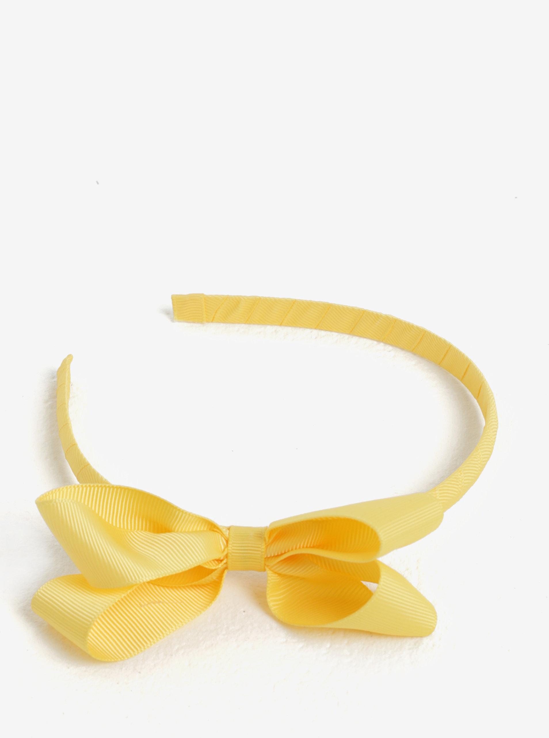 Žlutá holčičí čelenka s mašlí name it Facc-Killa ... 2cec0a6b09