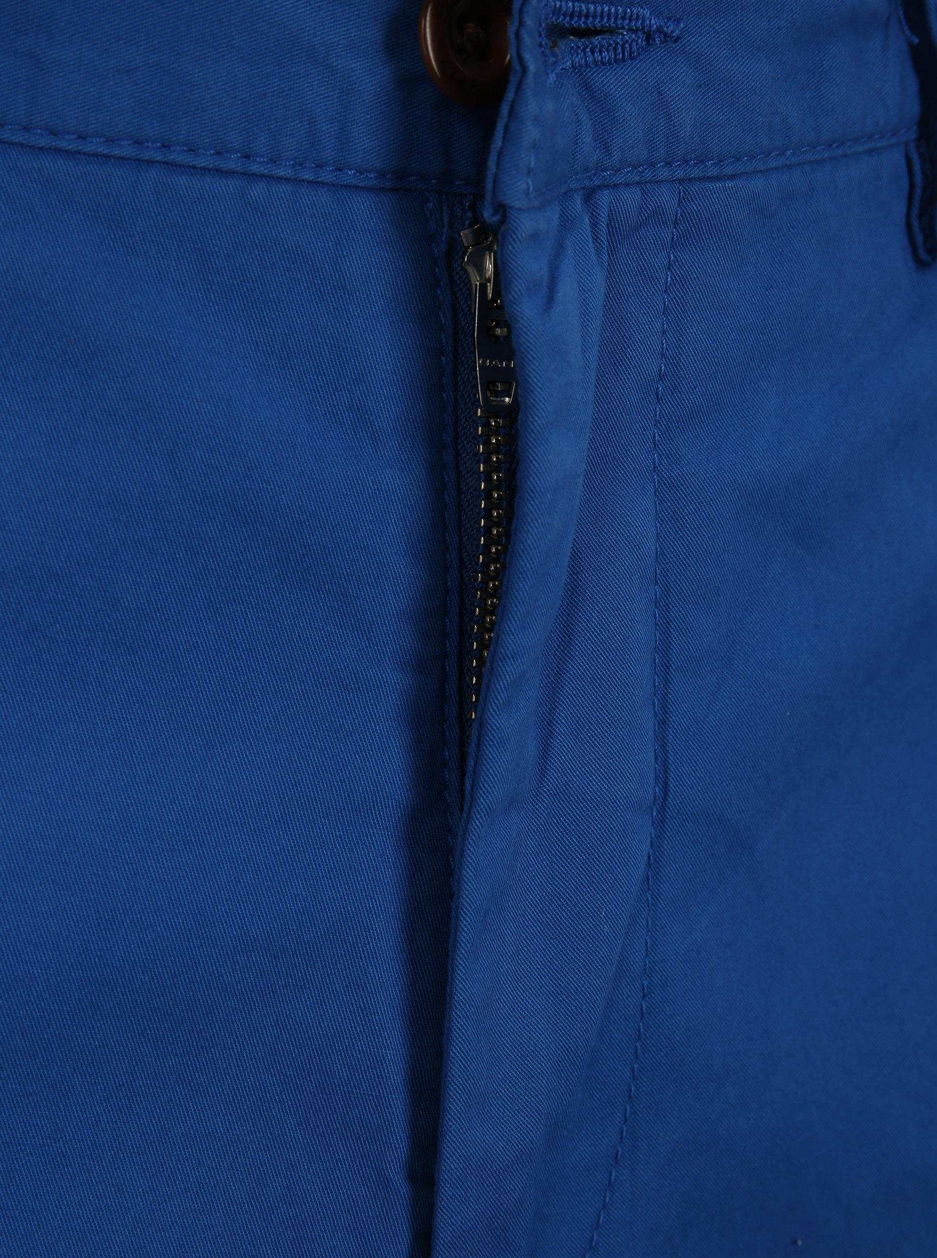 65618a15e9c Modré pánské kraťasy GANT ...
