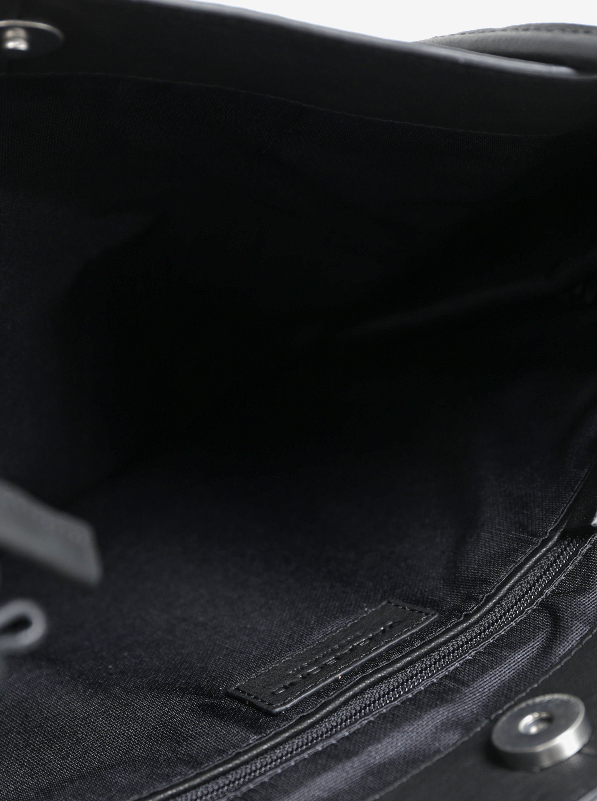 09b62c43bb Čierna kožená kabelka Vagabond Firenze
