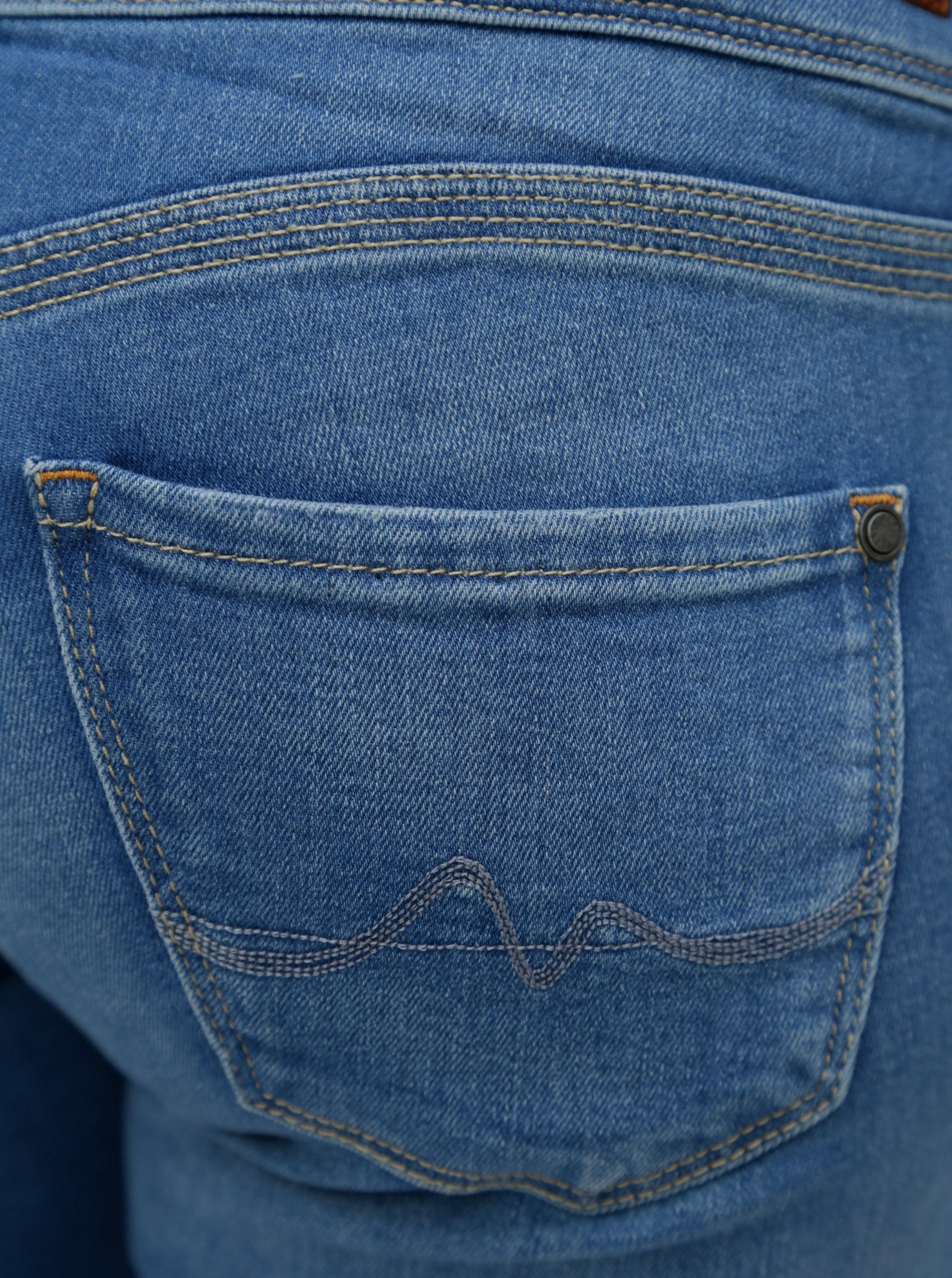 Modré dámské slim fit džíny s nízkým pasem Pepe Jeans Vera ... 46fabbfda7