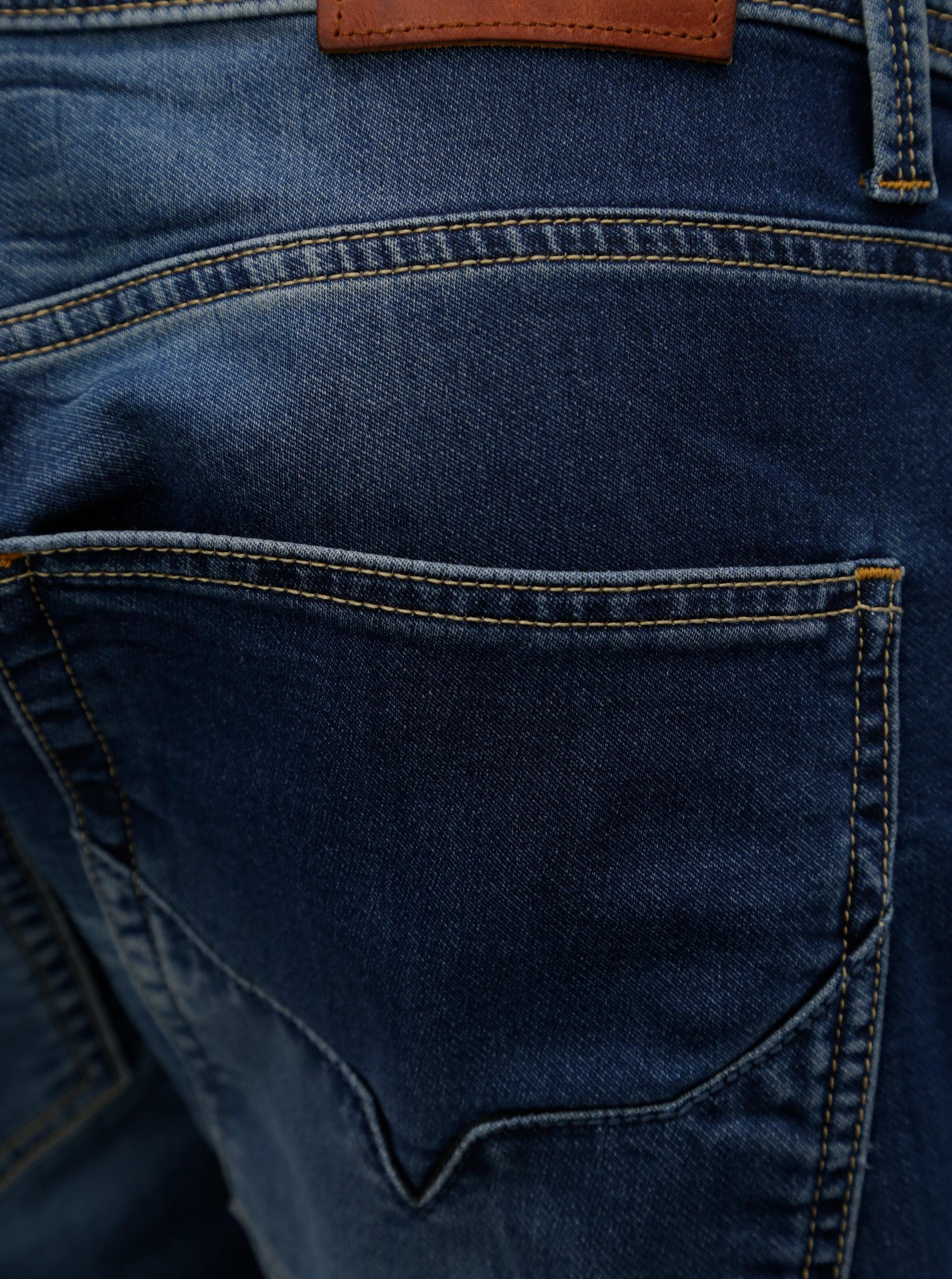 Modré pánské regular džíny Pepe Jeans Track ... 575bed79d2