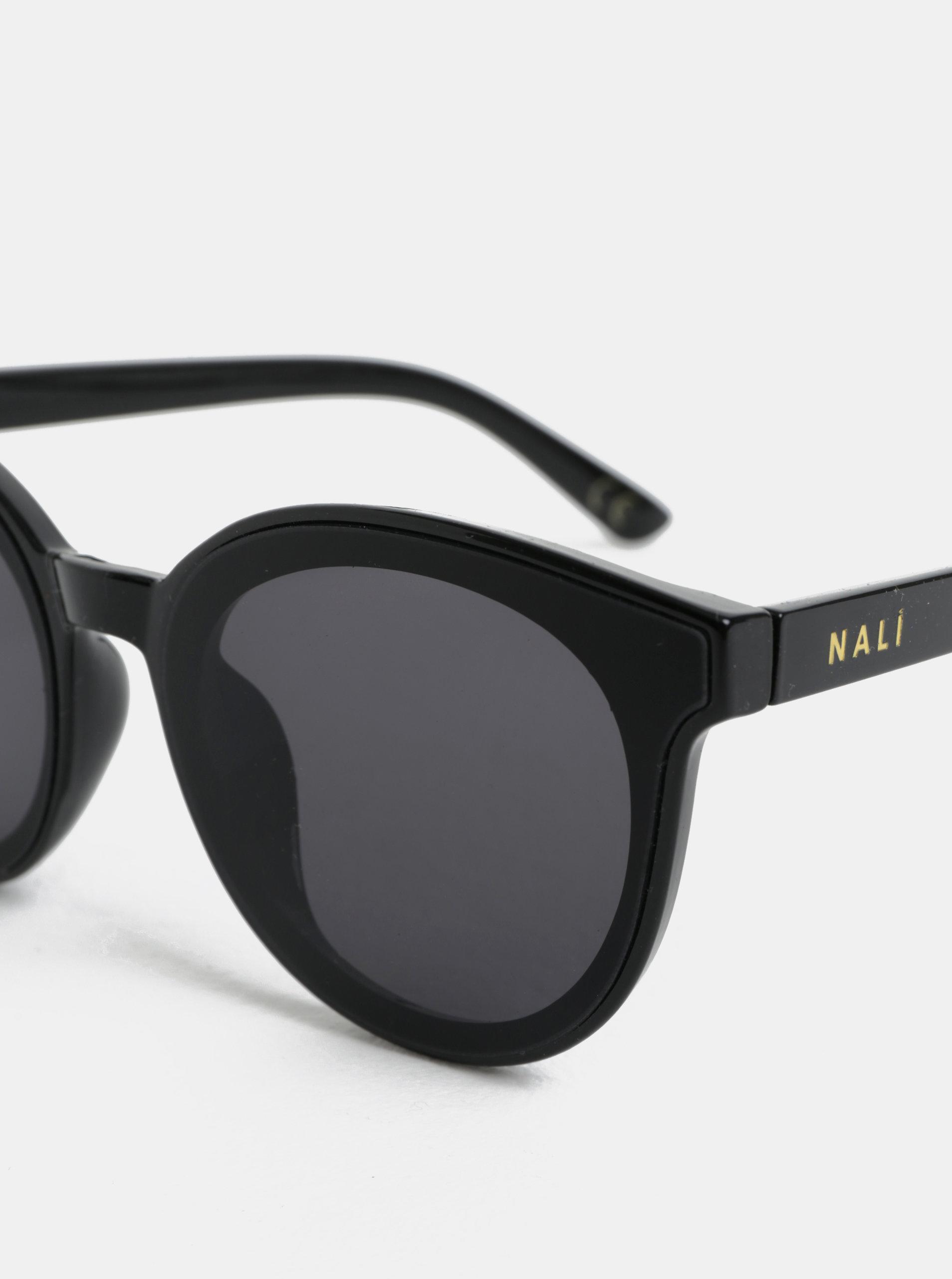 Čierne slnečné okuliare Nalí ... c49f6ccfcf2