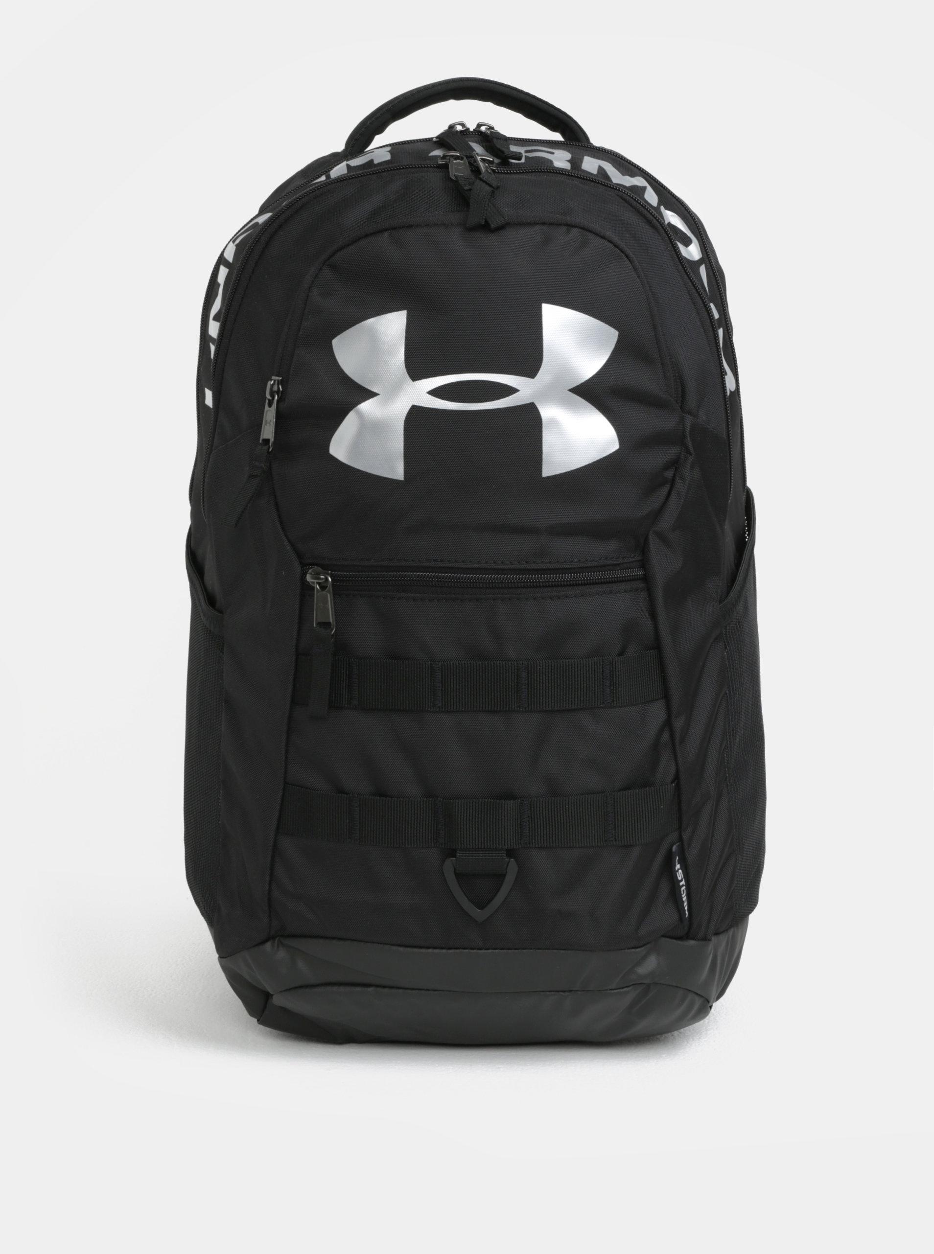 4115e7ab4d Černý voděodolný batoh s reflexními prvky Under Armour ...