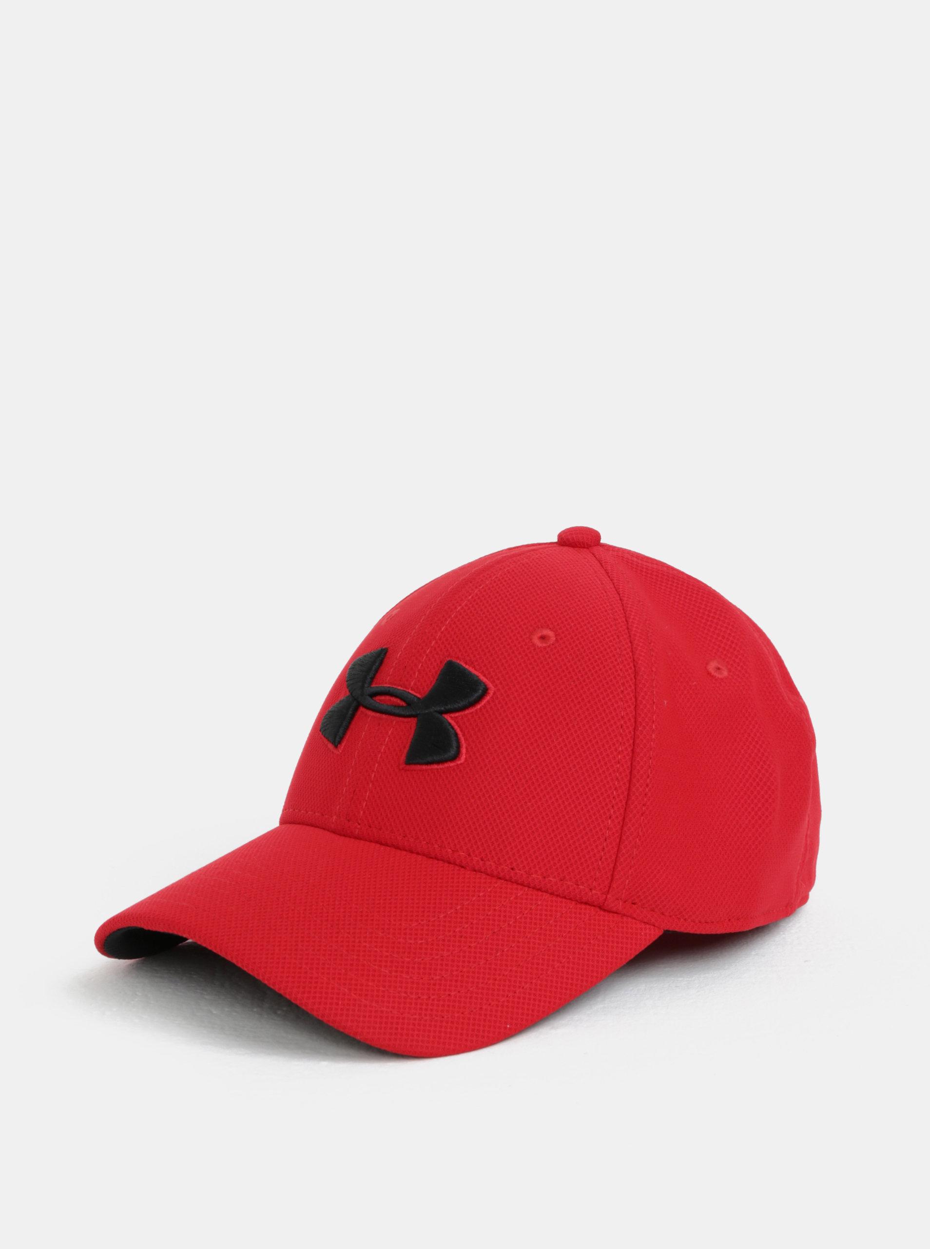 Červená pánska šiltovka s logom Under Armour ... 981eb033013