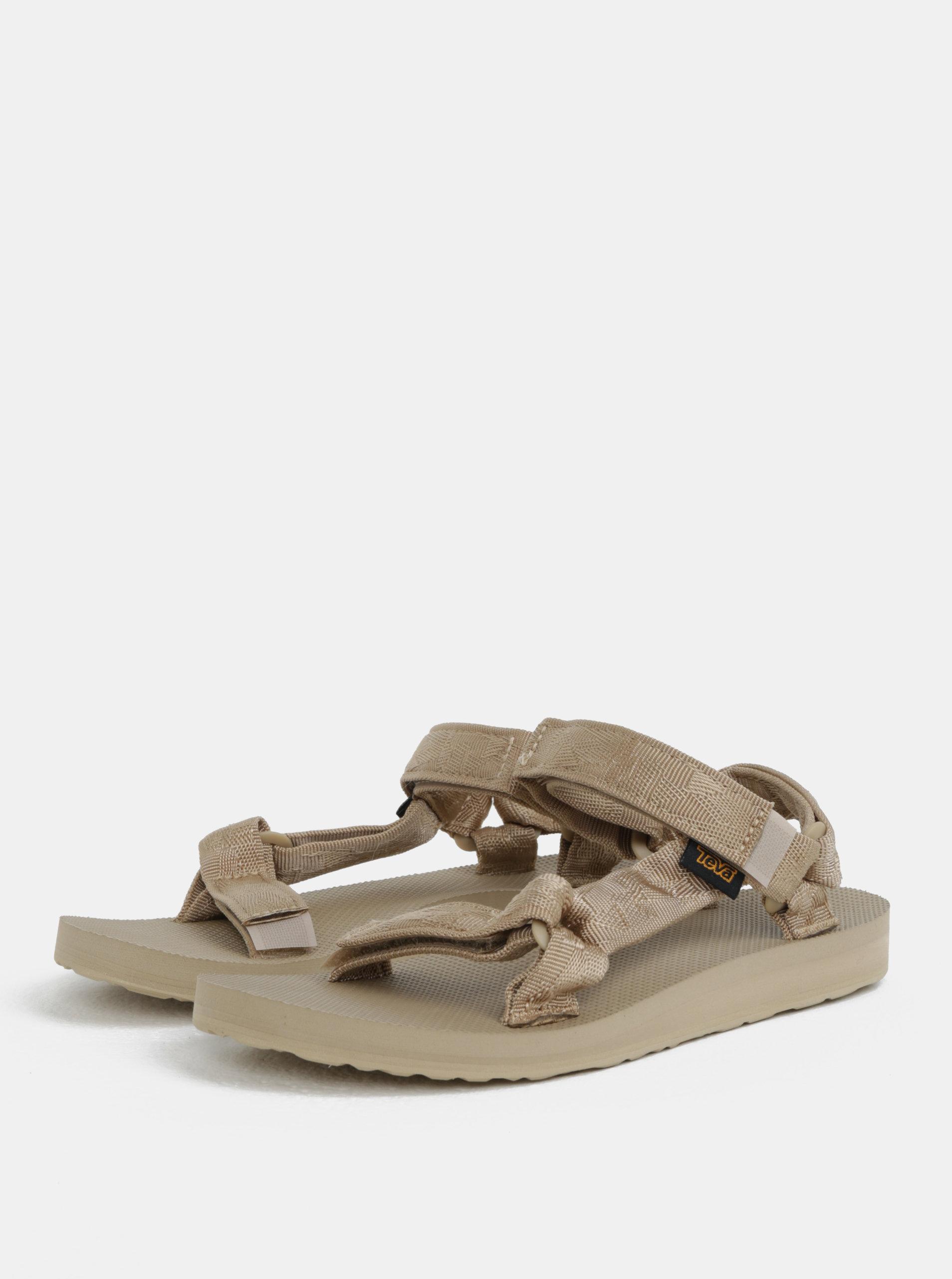 39615296f3d9 Béžové dámske sandále Teva ...