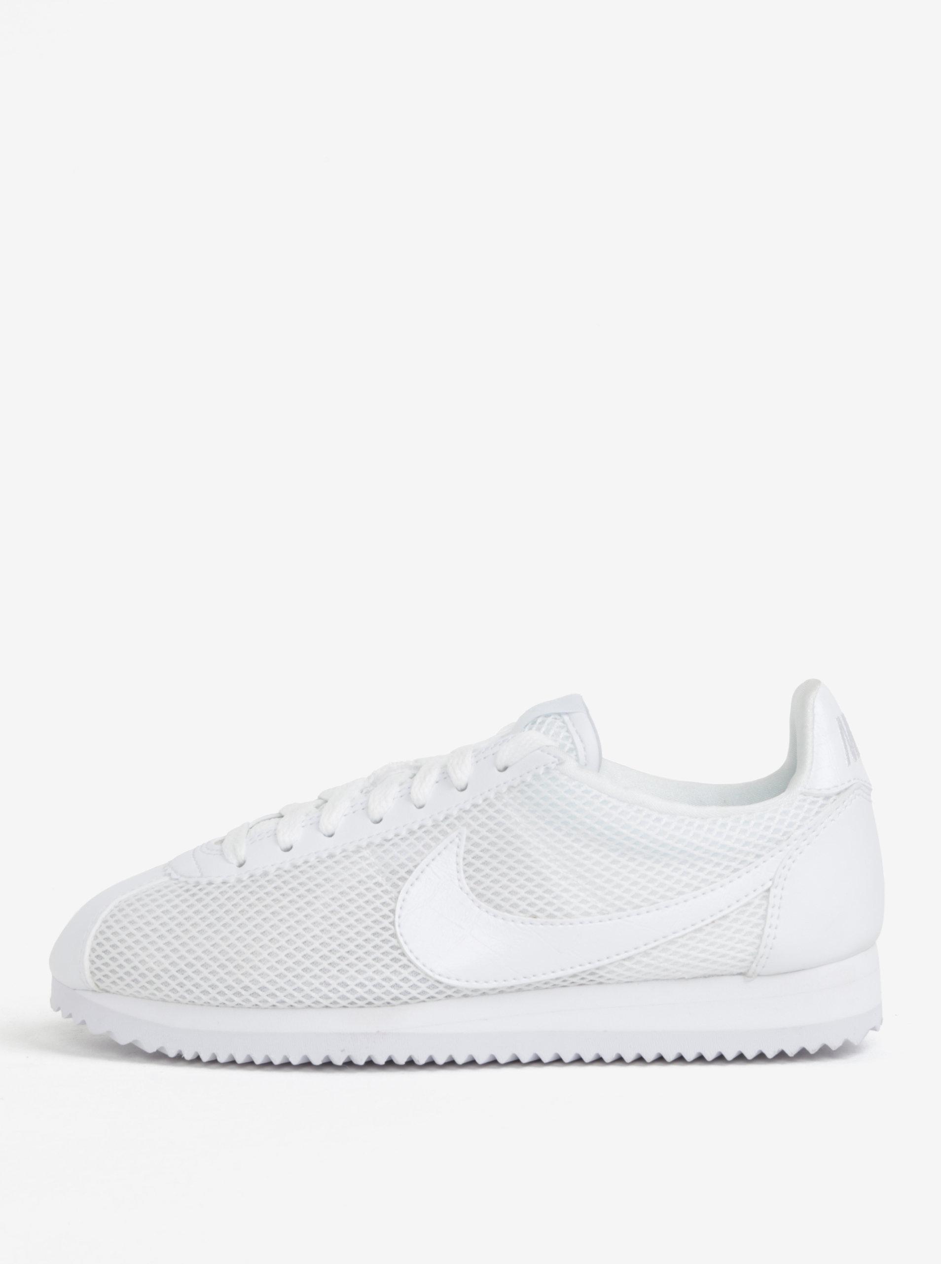 Bílé dámské tenisky Nike Classic Cortez ... 0934798e6bc