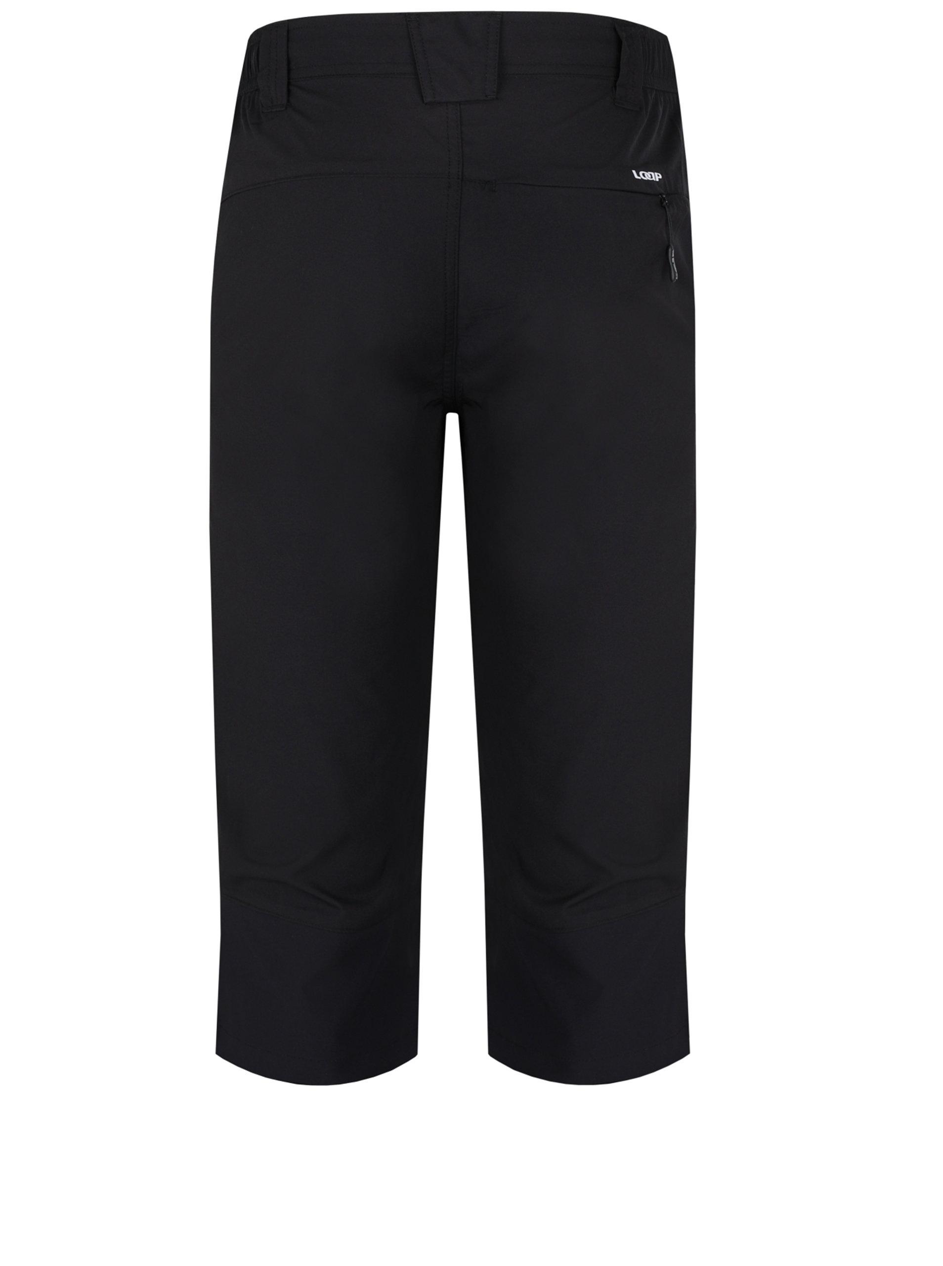 Černé pánské 3 4 kalhoty LOAP Uzus ... ba4c62d836