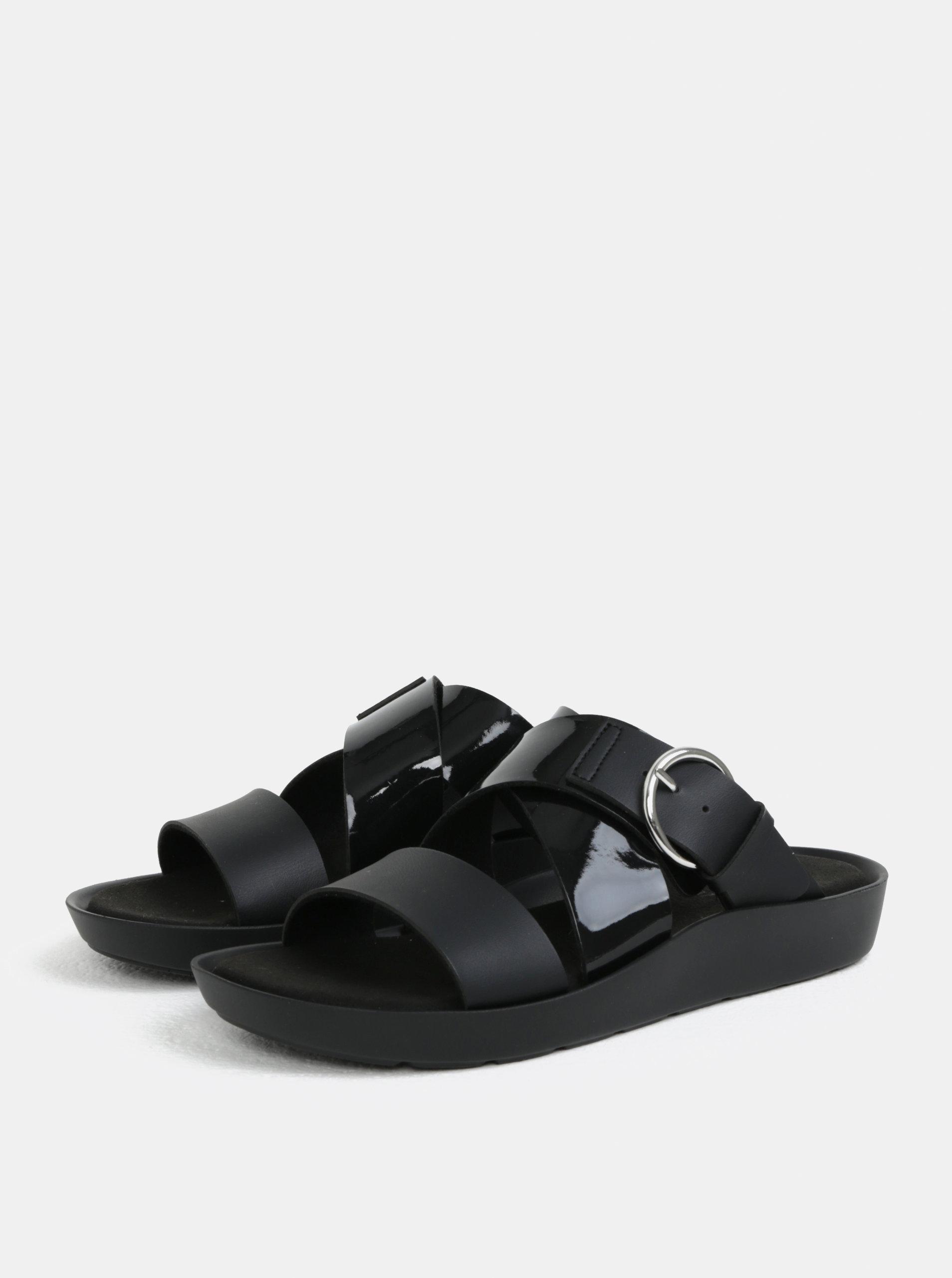 41d4bb6a346a Čierne dámske zdravotné papuče Scholl Marmaris ...