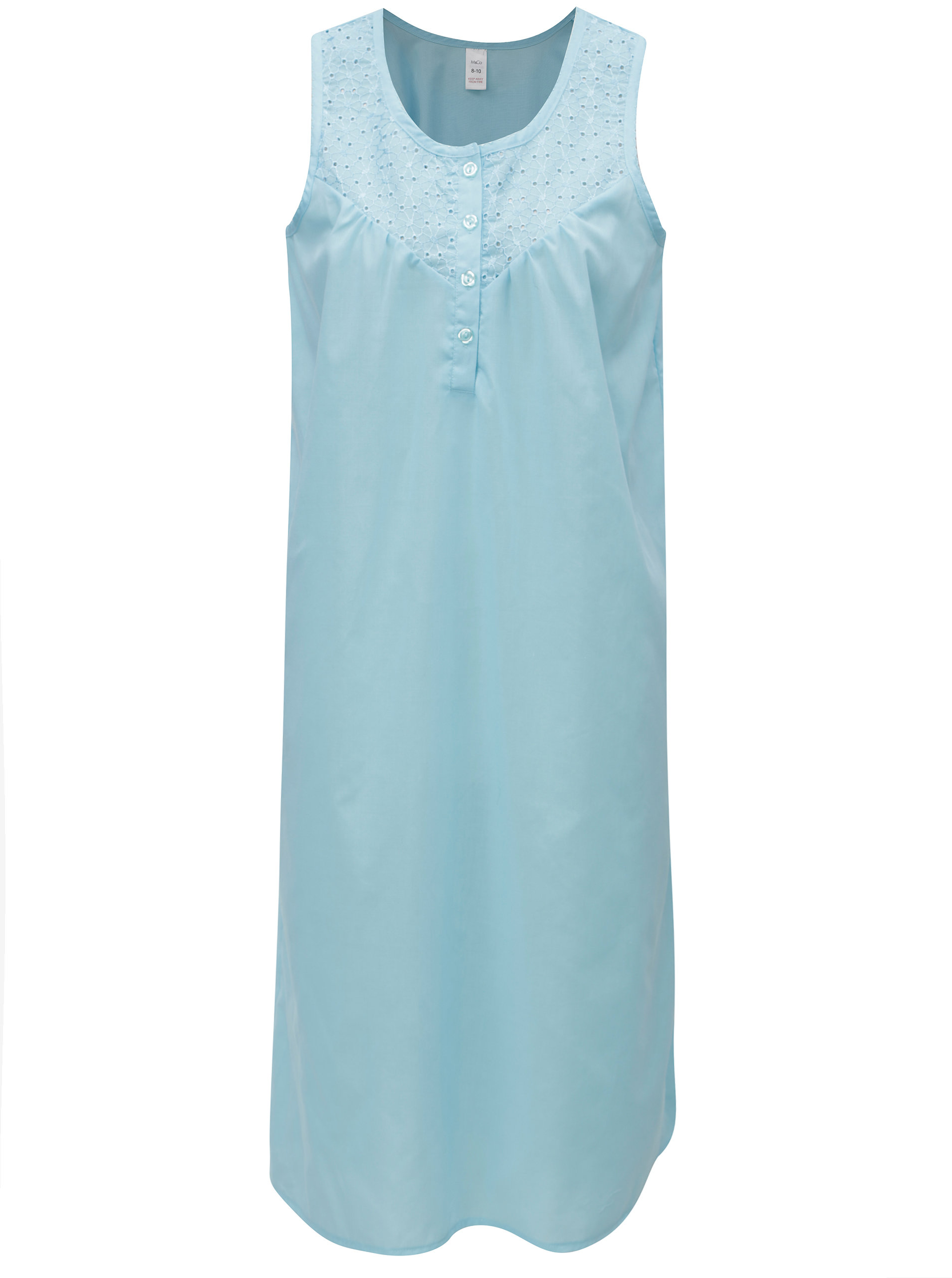 Tyrkysová noční košile M&Co