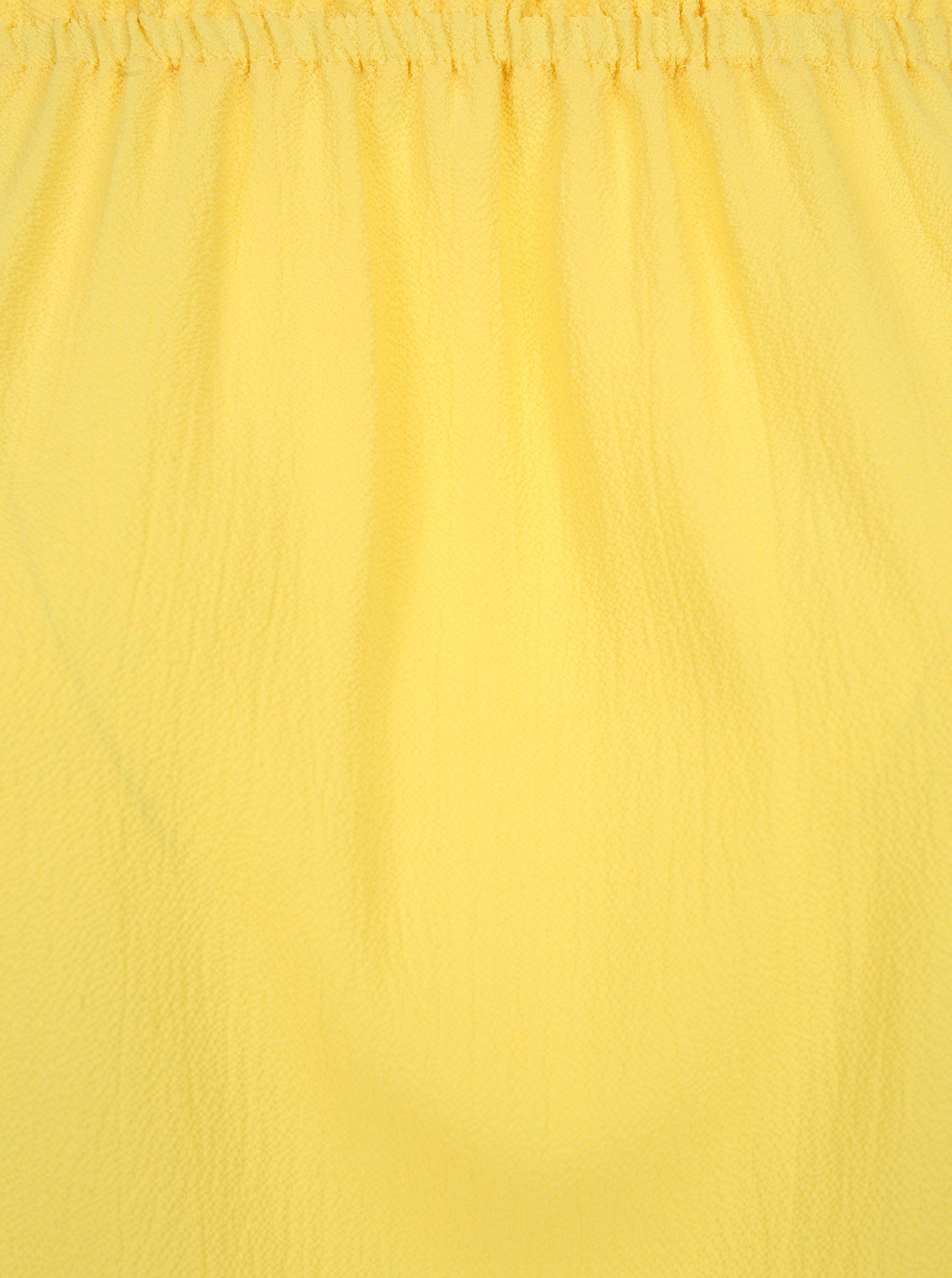 840ae32ec8ac Žltá blúzka so spadnutými ramenami Dorothy Perkins Curve ...