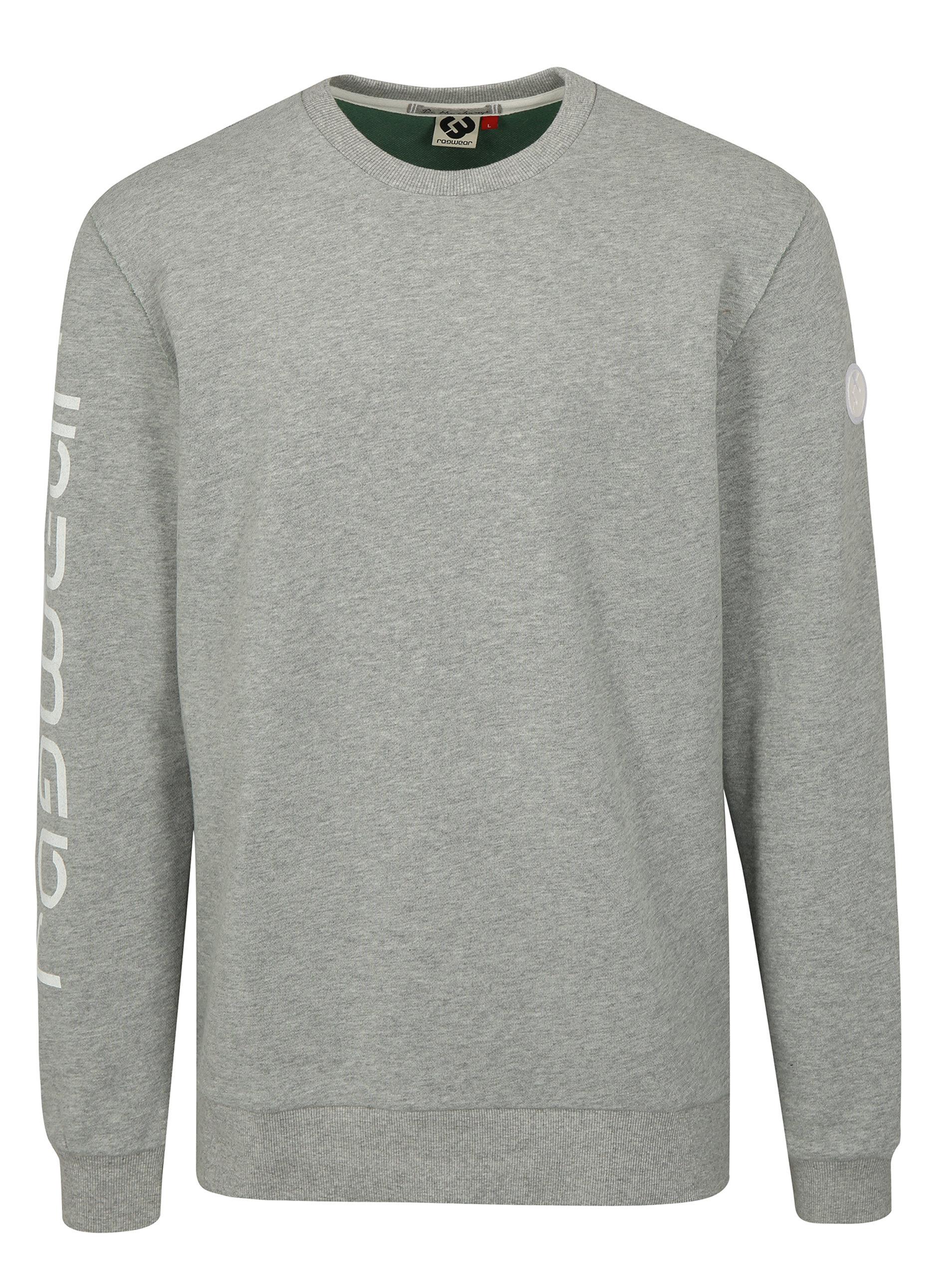 adfbfb46e6e Světle šedá pánská mikina Ragwear Indie