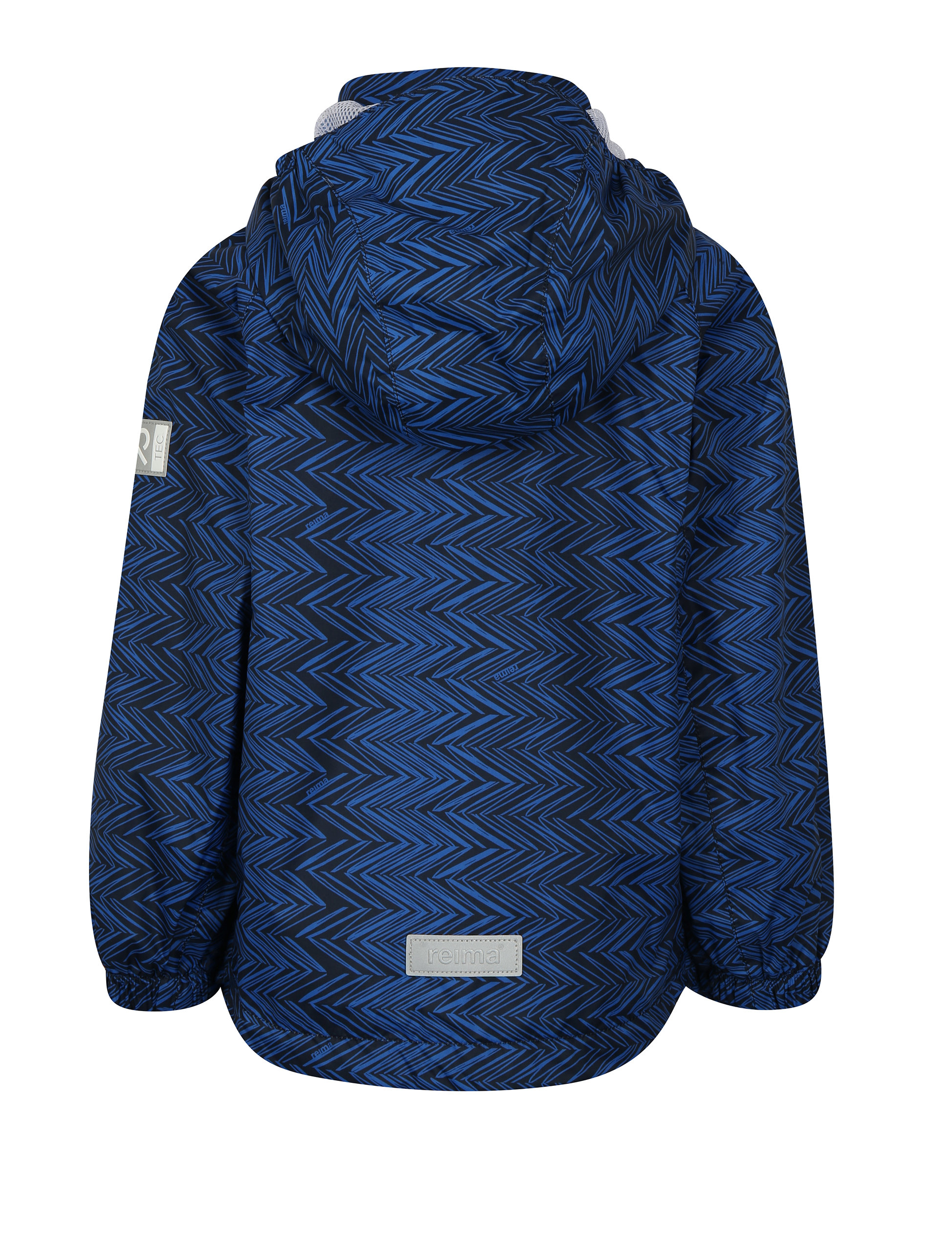 ed501666b99e4 Čierno–modrá chlapčenská funkčná bunda s kapucňou Reima Zigzag | ZOOT.sk