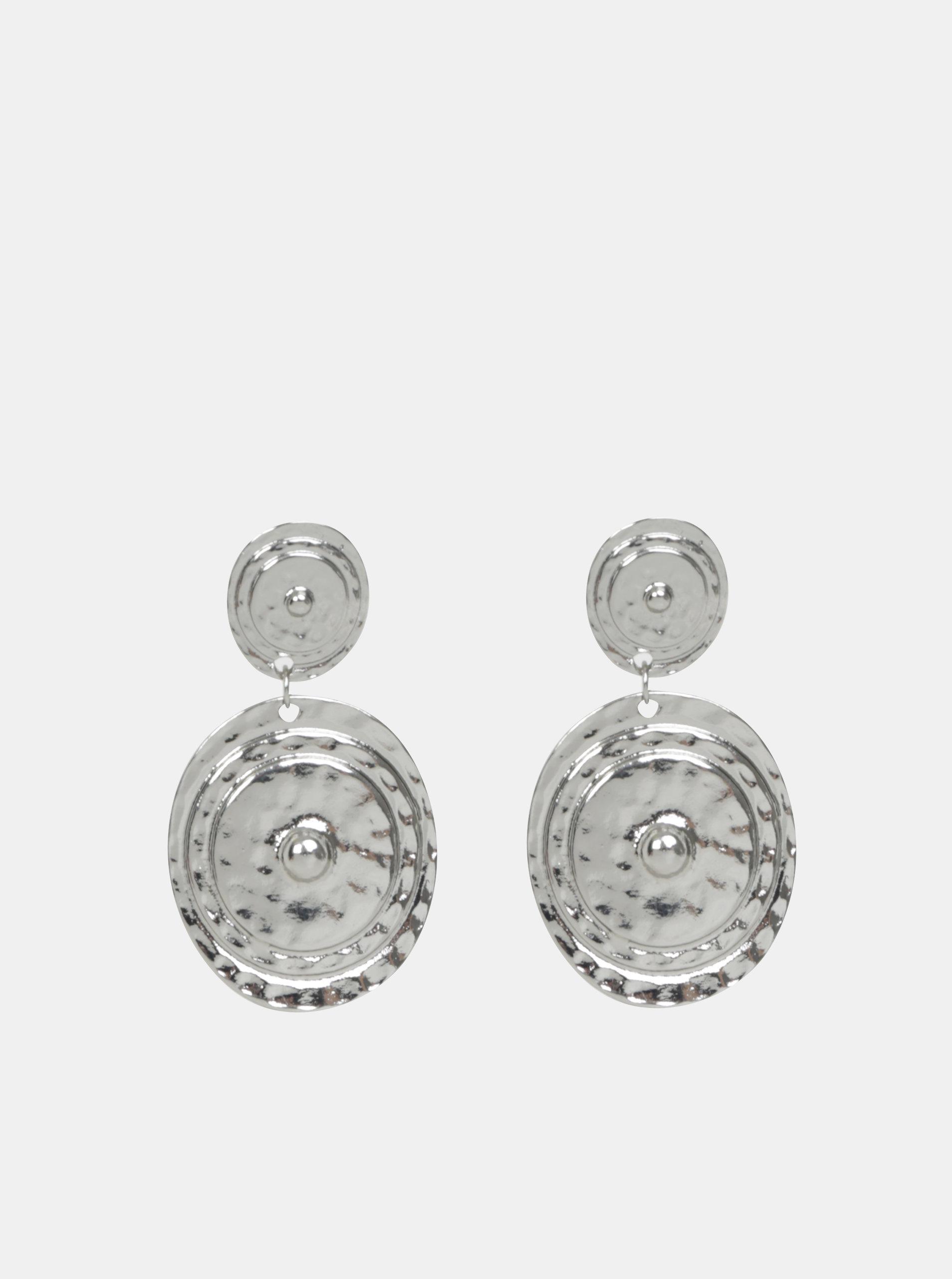 Visací náušnice ve stříbrné barvě Pieces Magnid