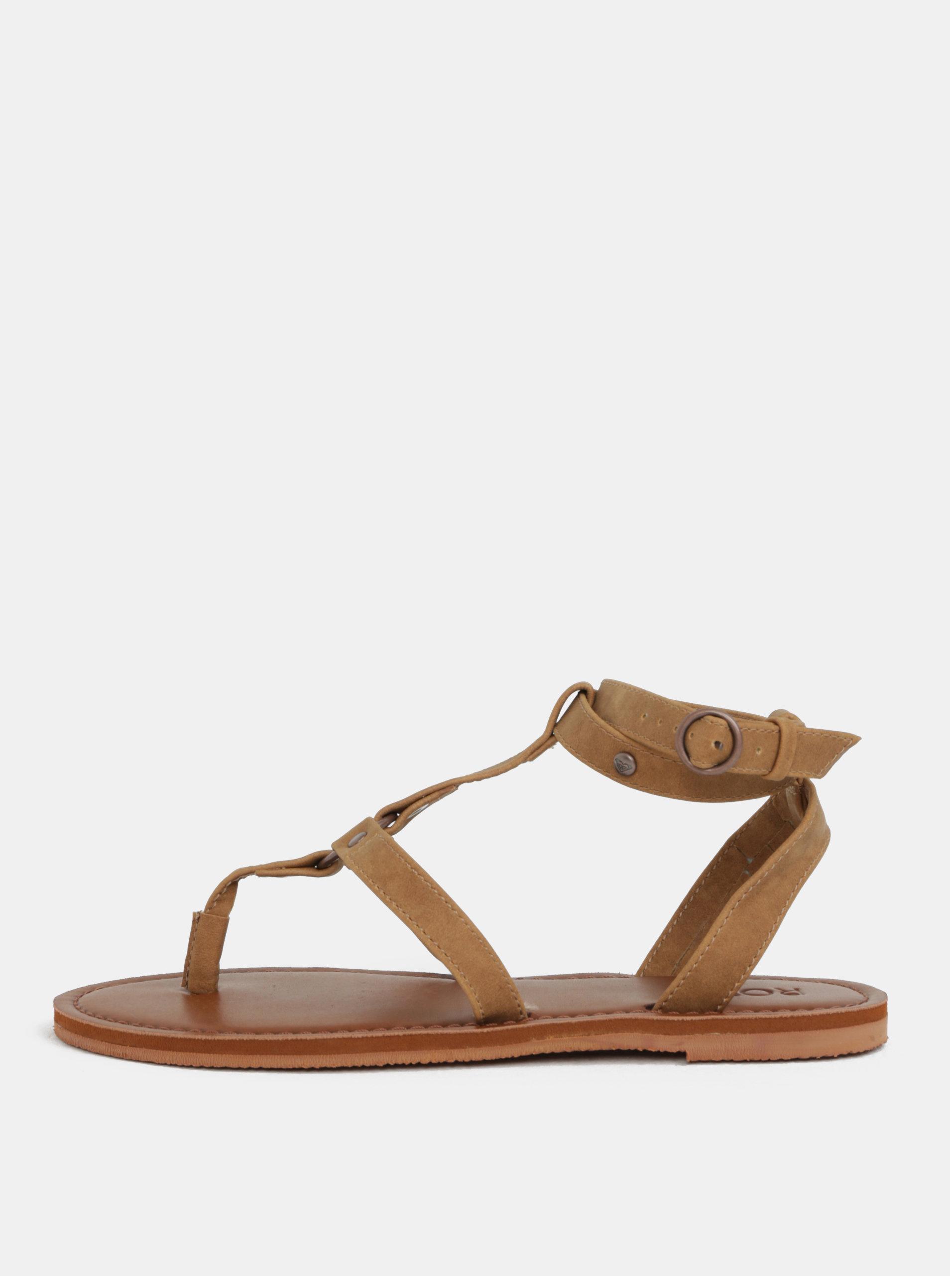 Hnedé dámske sandále Roxy Soria ... b69a4a53c1