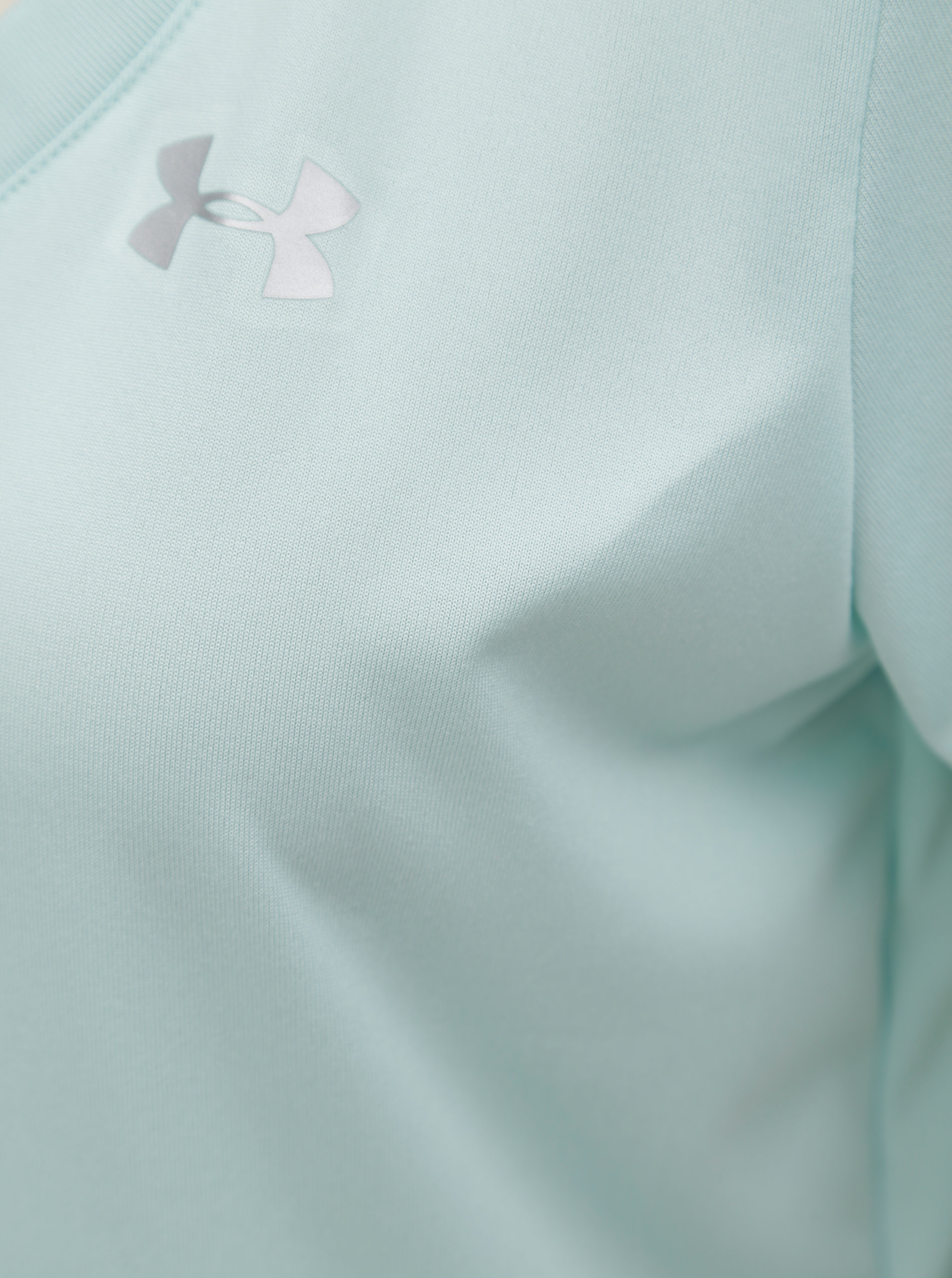 Mentolové dámske funkčné tričko Under Armour Solid ... 19f18c8e069