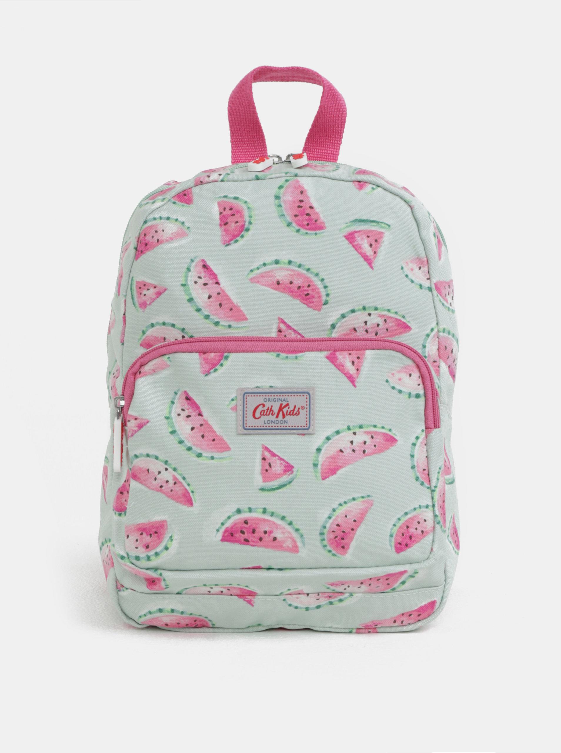 6707e671550 Světle zelený holčičí batoh s potiskem melounů Cath Kidston - SLEVA ...