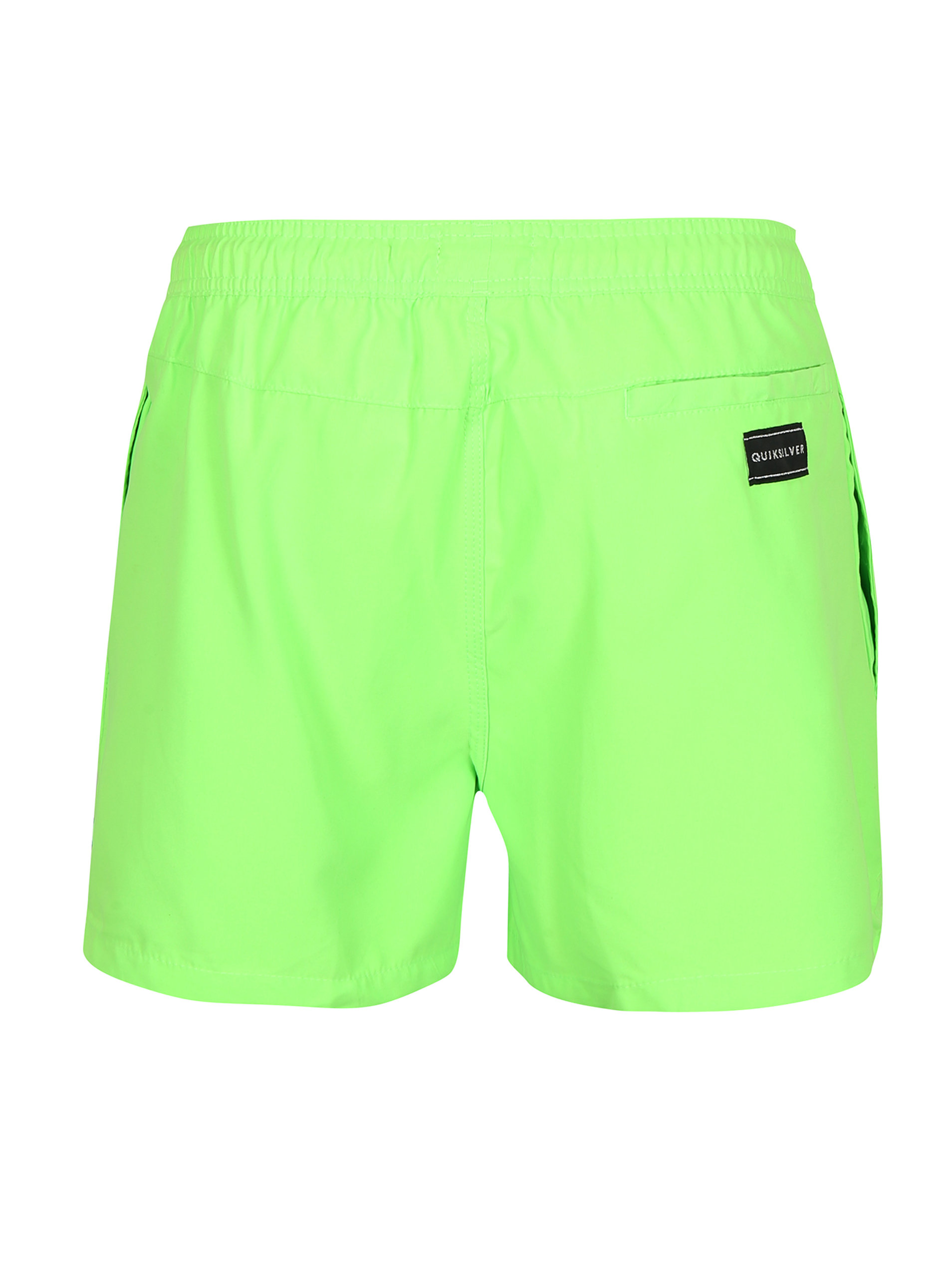 Neonově zelené pánské plavky Quiksilver ... e853842bb3