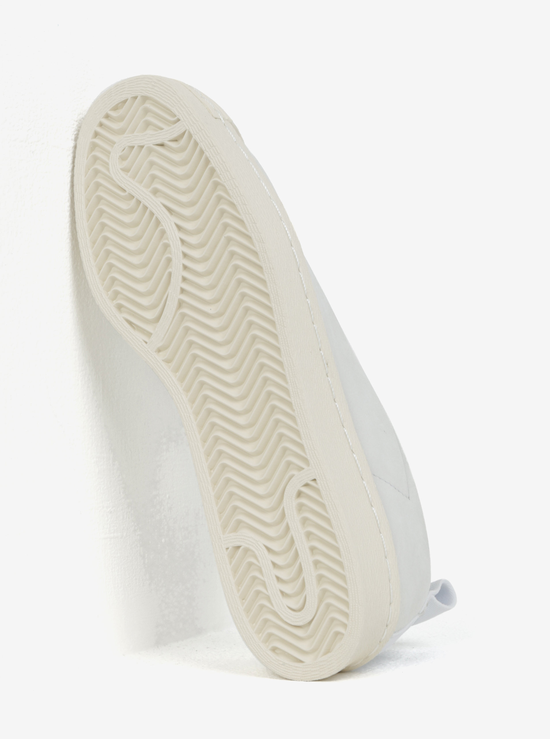 Biele dámske kožené slip on adidas Originals Tubular Superstar ... c658b63146d