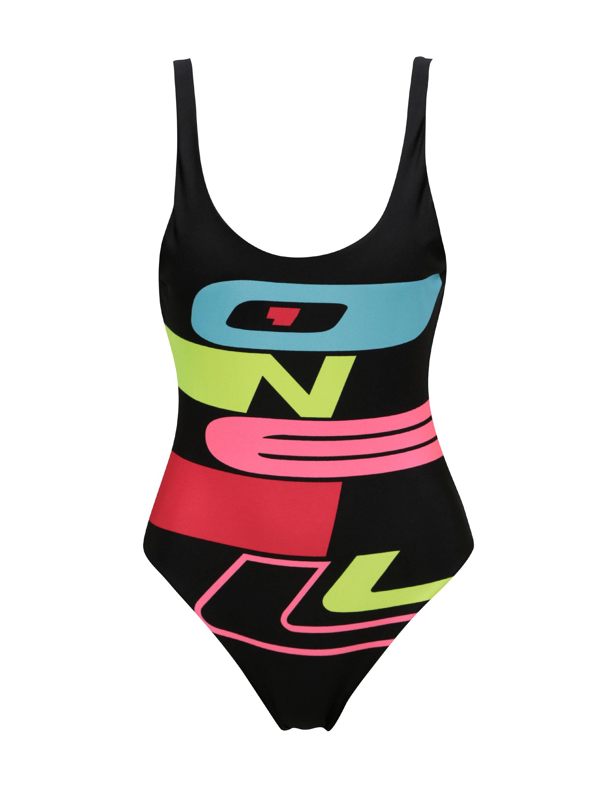 6b1056b23a5 Černé dámské plavky s výstřihem na zádech O Neill Issue ...