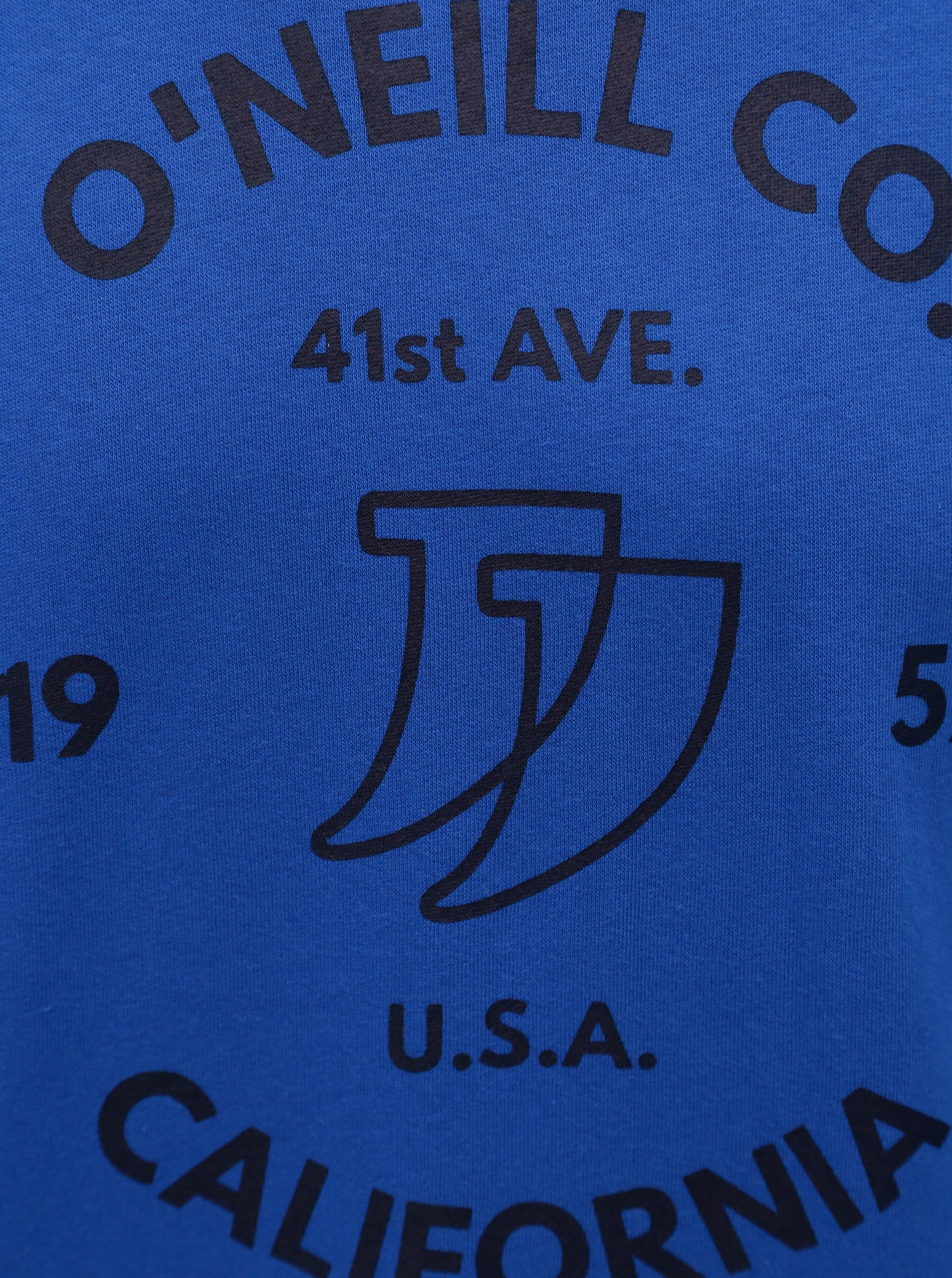 f718fac8d8 Modrá pánská mikina s potiskem O Neill Boulevard ...