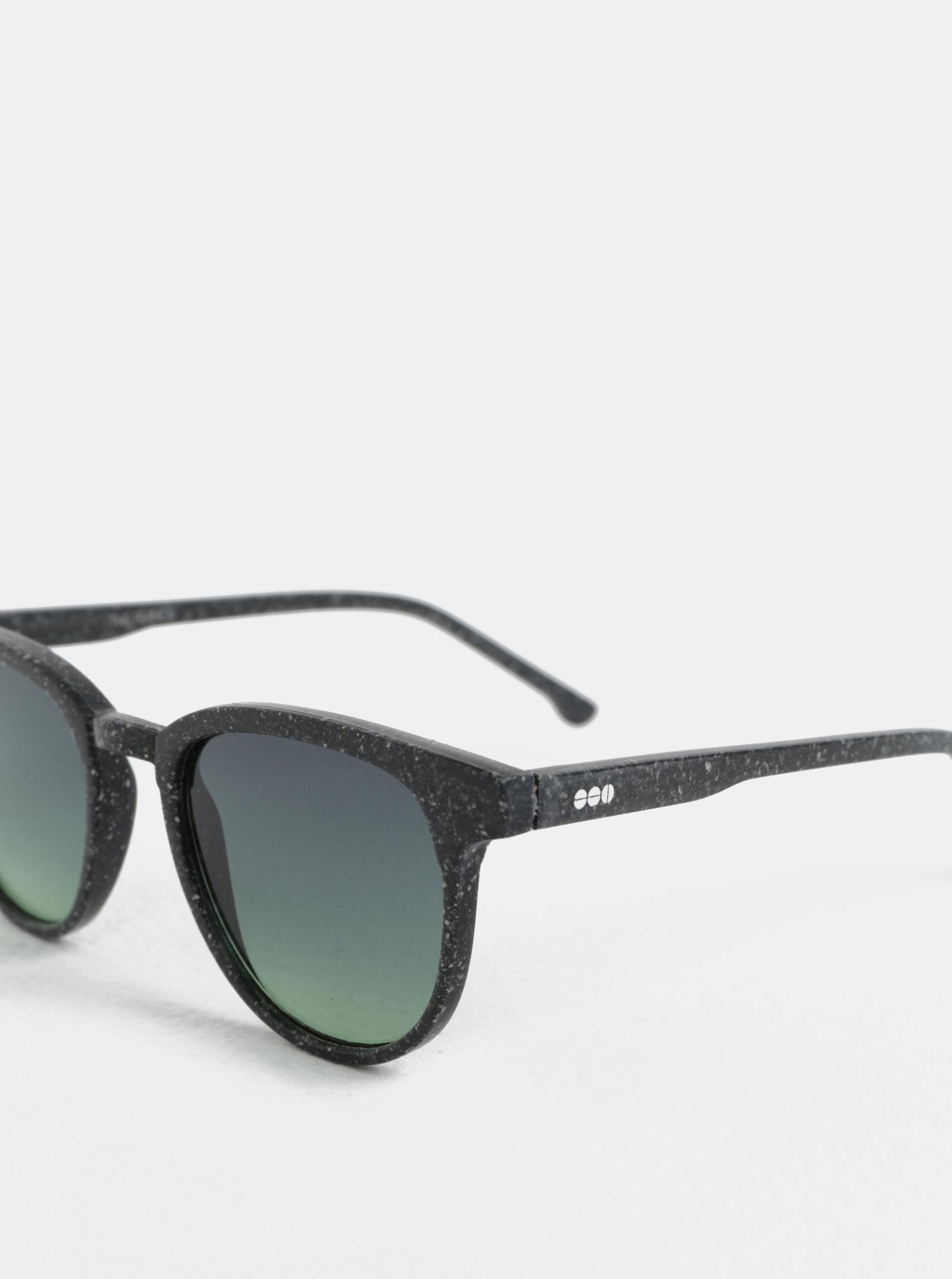 81c751551 Tmavosivé unisex slnečné okuliare Komono Winston ...