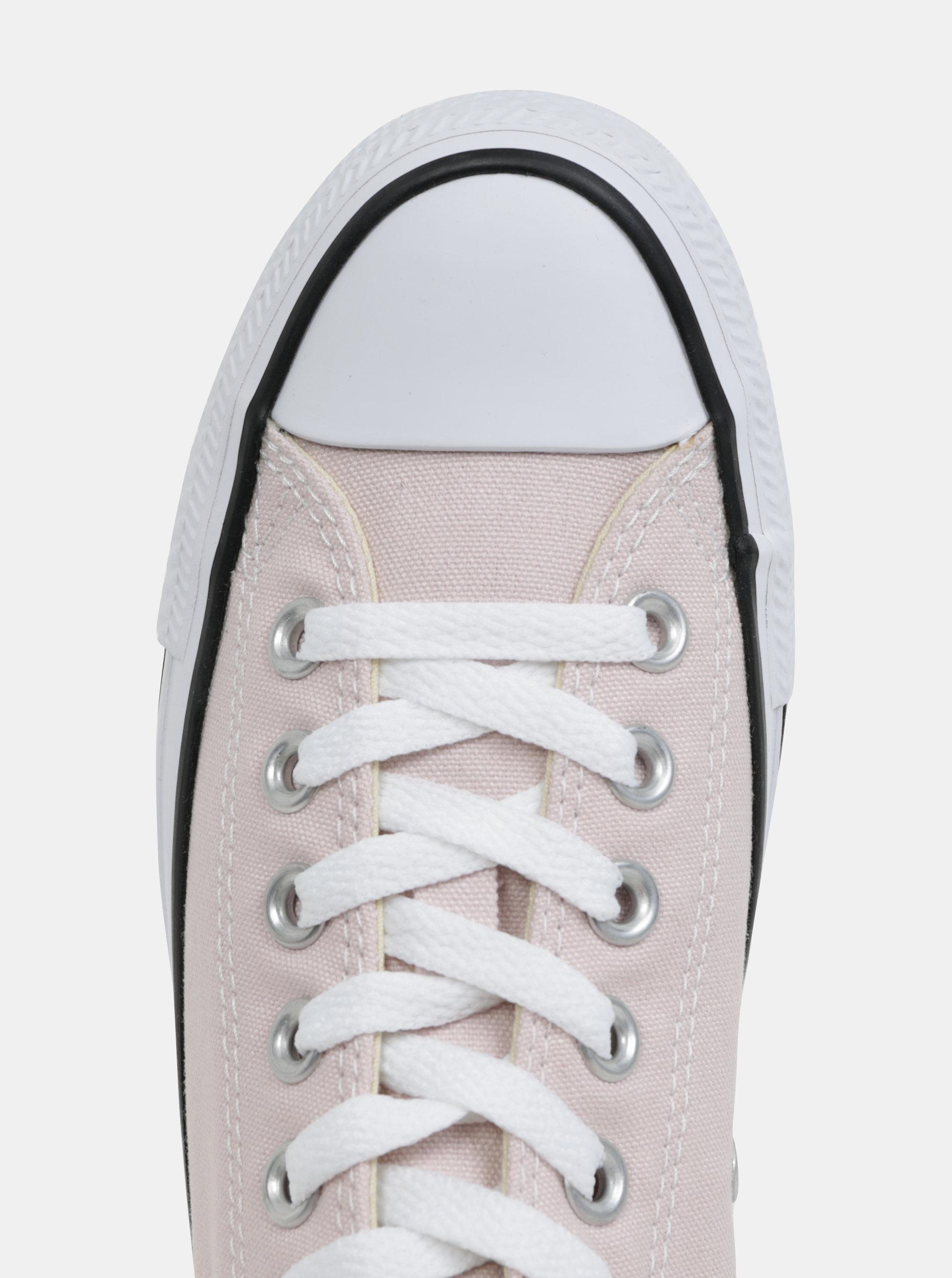 Světle růžové dámské tenisky Converse Chuck Taylor All Star ... 0fcac0ce74