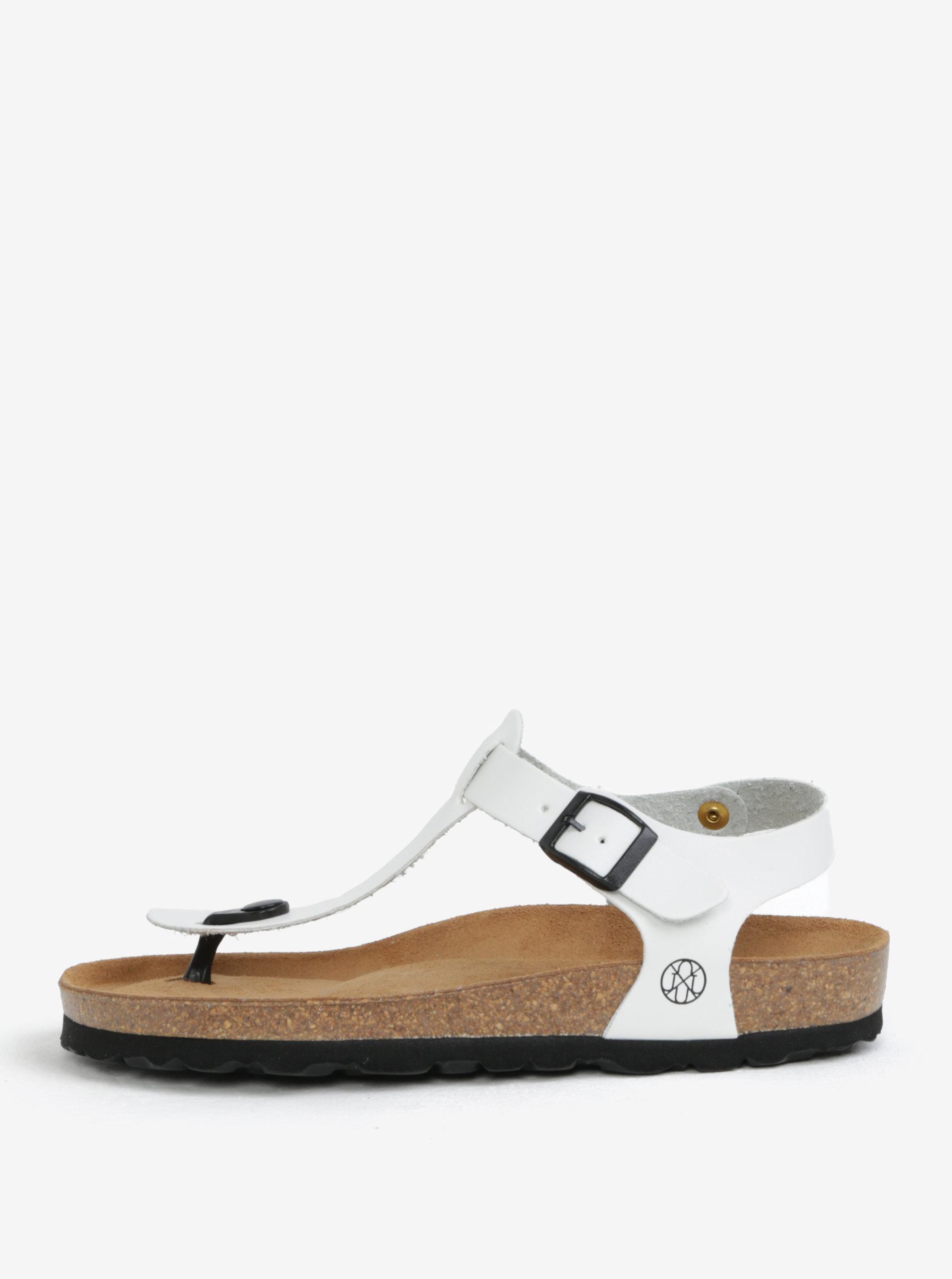 c72be00c7121 Biele sandále OJJU ...