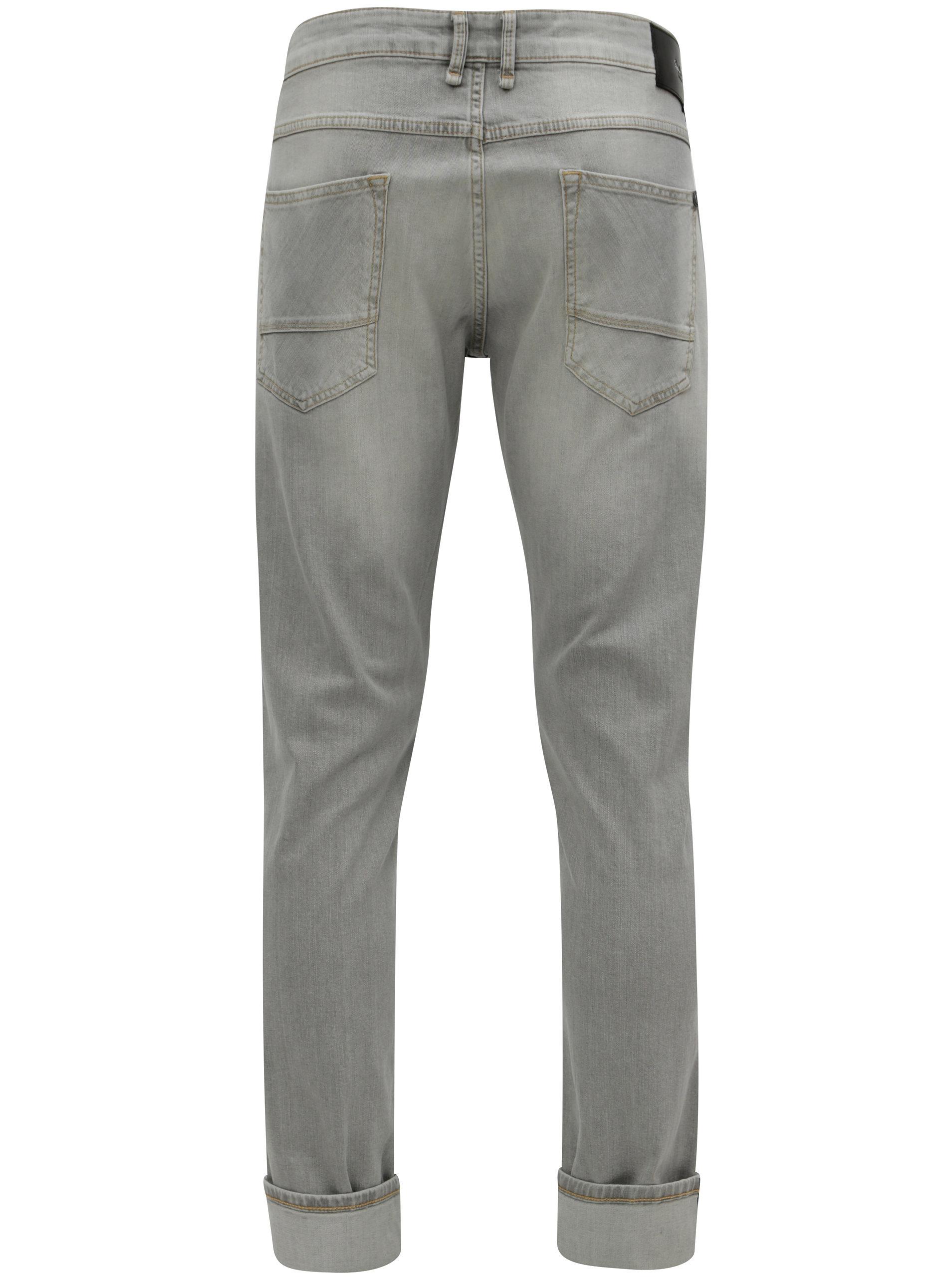 03734e45eb7 Světle šedé pánské regular džíny Pepe Jeans Zinc ...