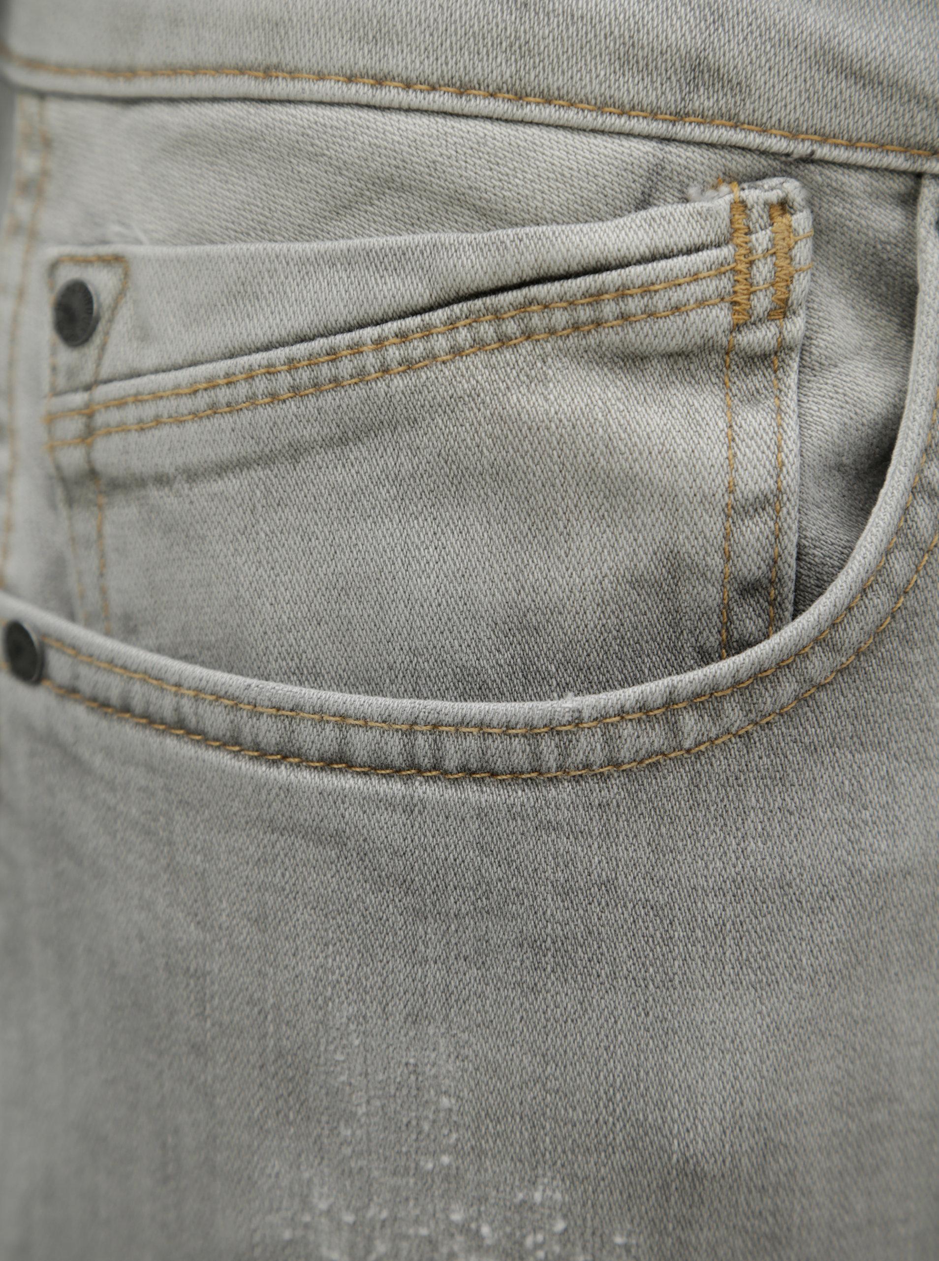 Světle šedé pánské regular džíny Pepe Jeans Zinc ... e60083a6a6
