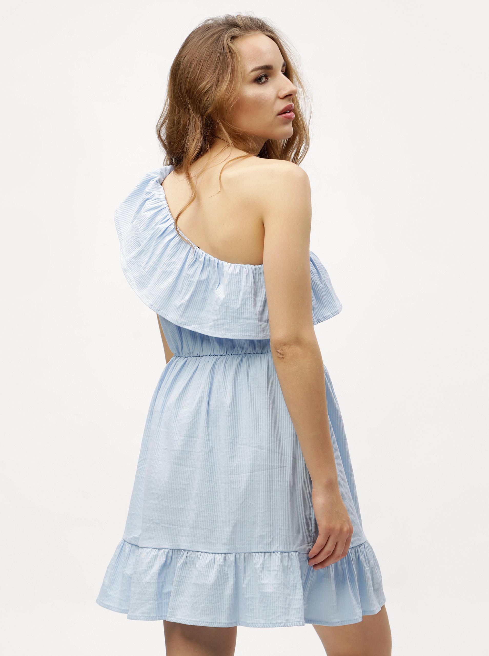 829cf42477d8 Svetlomodré asymetrické šaty VERO MODA Sia ...