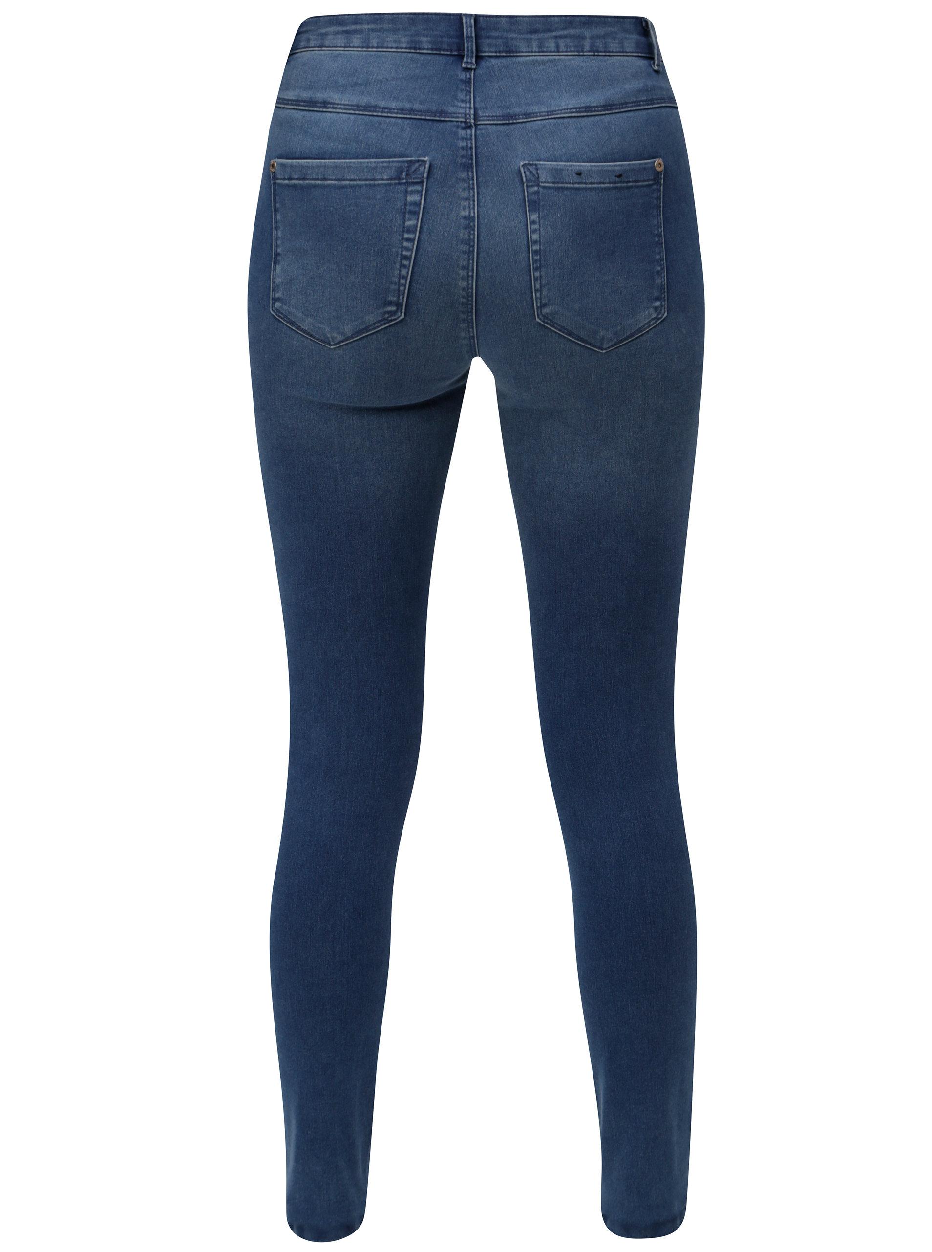 d9953aa60ba Modré skinny džíny ONLY Royal ...