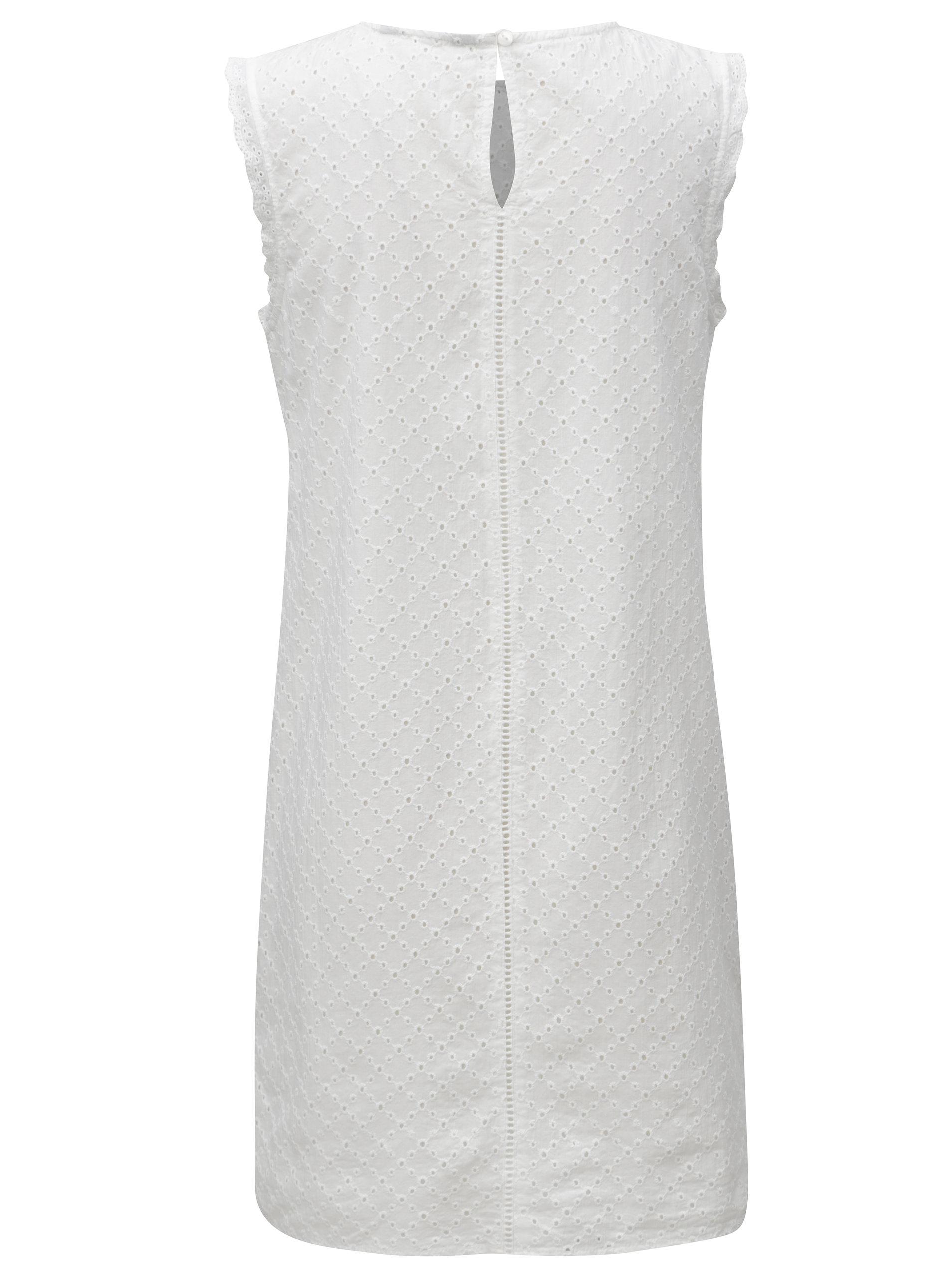 4ab48a799 Bílé krajkové šaty Dorothy Perkins   ZOOT.cz